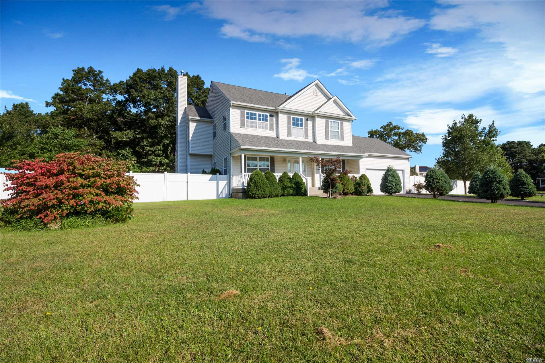 Beautiful Newer Construction Colonial! The First Floor Features A Two-Story Entry & Living Room, Formal Dining Room, Spacious Eat-In Kitchen & Family Room. 1st Floor Laundry Room. Upstairs Is The Master Suite With Attached Full Bath (Stand Up Shower And Bathtub), 2 Additional Bedrooms & A Full Bathroom. Full Unfinished Basement W/ 8-Ft Ceilings. Hardwood Flooring Throughout Except In Bathrooms. Fully Fenced Yard & Large Patio. 2-Unit Central Ac.