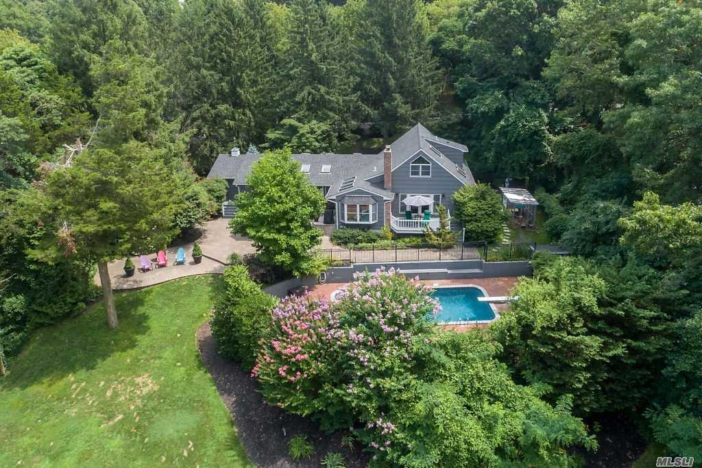 Open Concept And Completely Renovated Designer Dream Home In Bucolic Fort Salonga! 5 Bedroom 3.5 Bath Farm Ranch With Office, 1st Floor Master Suite, Eat In Kitchen And More. Watch Sunsets From Your Private Master Suite Deck With Vista Views Over Looking A Sparkling Gunite Pool And Rolling Full Acre Property. Turnkey Home Just Move In! King Park School District #5.