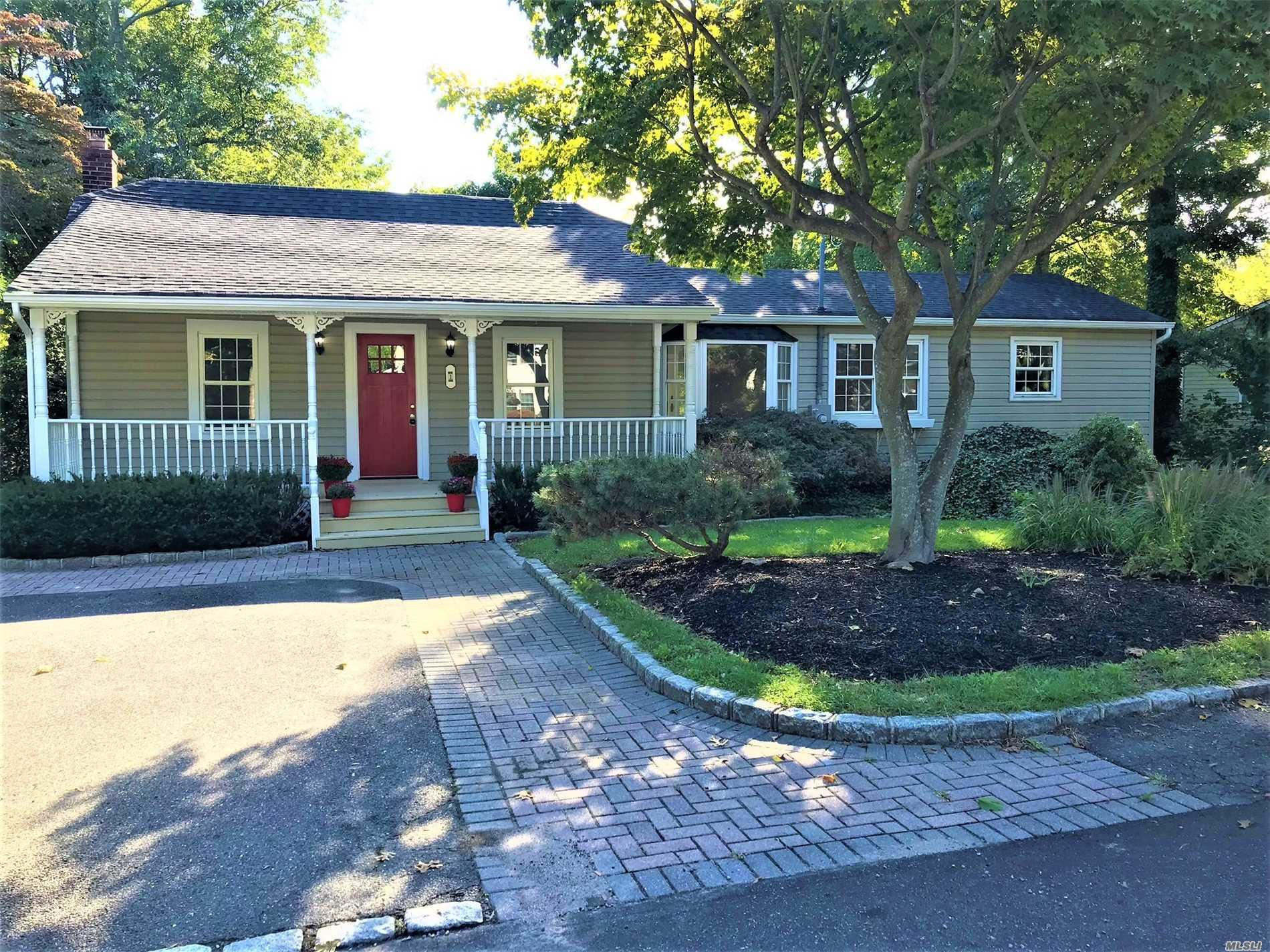 This Ranch Is A Must See!! Boasting A New 30Yr Roof, New #1Oak Flooring Throughout, Custom Tile Work In The Bathrooms, New Custom Self Closing Kitchen Cabinets, Custom Farrow And Ball & Benjamin Moore Paint Color! Honed Black Granite Counter Tops, Custom Herring Bone Back Splash Accent The Beautiful Brand New Stainless Steel Appliances And Porcelain Tile Make This A Dream Kitchen! New 200 Amp Service And Mature Landscaping , Anderson French Doors, And A Beautiful Front Porch! A Must See!! Low Taxes!