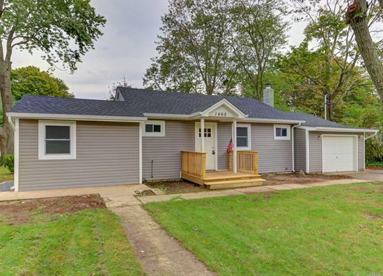 All You Need To Do Is Bring Your Furniture. Total House Renovation. 3 Beds 2 Full Baths Including A Private Master Suite. Closets Galore. Large Back Yard With Shed. New Gas Heat. All New Base Boards. Don't Miss Out!