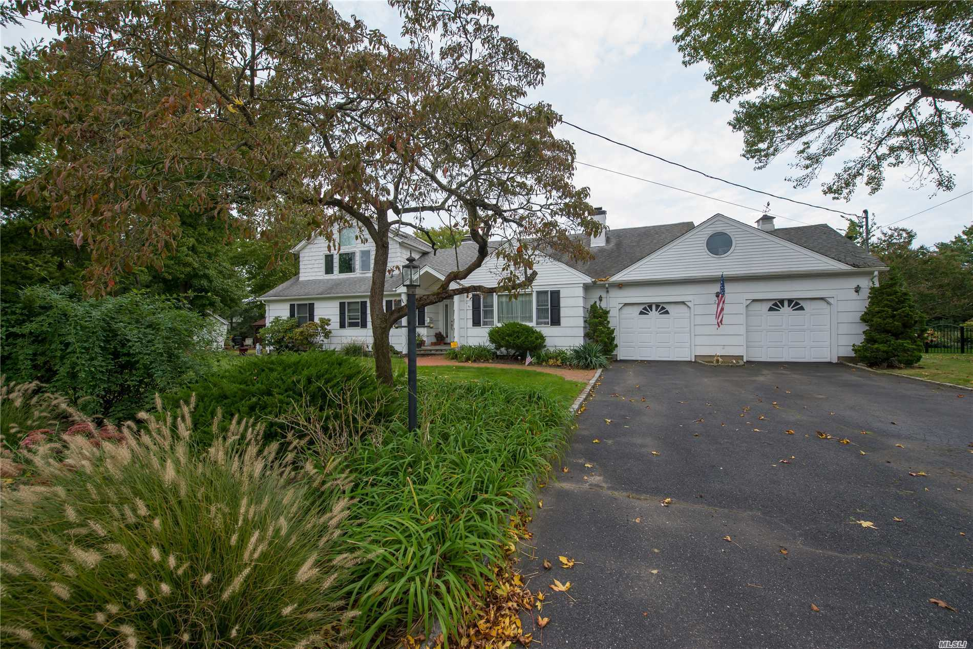 Large Colonial/Farm Ranch With Expansive Floor Plan In Desirable Blue Harbor (South Of Montauk) In Babylon Village. Convertible Floor Plan With Master Bedroom On 1st Or 2nd Floor. Tranquil Pond Front Location On .37 Acre.