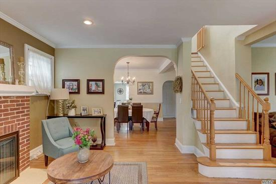 Welcome Home To This Warm, Lovely Home Great For A Family As Well As Downsizing To A One Level Home. Deceptive From The Outside. Open Sunny Rooms, Pretty Archways, Hardwood Floors, Comfortable Flow. Good Sight Lines. Great Location Near Rvc Village, Shops, Restaurants And Lirr. Watson Elementary School.