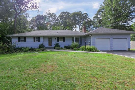 Location, Location- Bring Your Key & Move Right Into This Lovely Ranch! This Home Features A Granite Eik W/Ss Appliances, Master Br W/Bath, Hw Floors, Natural Gas In Home Also, Burner-2012, Roof 2014, Updated Windows, 200 Amp Elec, & Huge Finished Basement W/Summer Kitchen & Ose- Set On Beautiful 1/2 Acre Of Flat Property In Gorgeous Neighborhood! Accompsett Elem & Middle School, Hs West.
