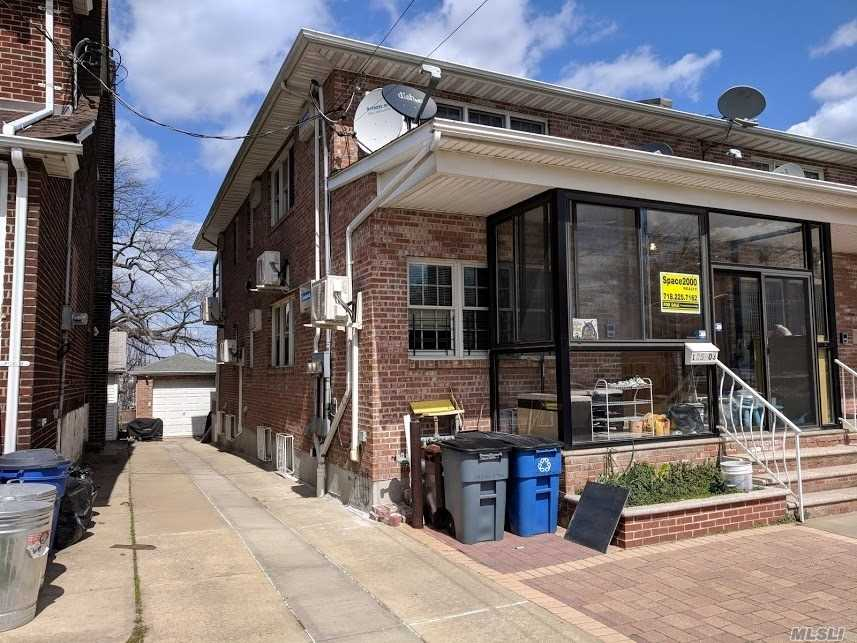 Rare Sun Drenched Top Of Hill Overlooking East River N Whitestone Bridge. Marina Down The Hill Makes You Feel Like On Vacation Every Day! Enjoy Your Own Private Spa With Steam Rm, Sauna Whirlpool And Heated Floor In 7.5' High Ceiling Bsmt. 7 Ac/Heat Split Systems. Separate Entrance To Basement. 3 Separate Meters. 1st Fl Ceiling 8.5', 2nd Fl Ceiling 8'. Andersen Windows Throughout. Owner Occupied Since Built In 2005, Never Rented Out. Q25 And Q65.
