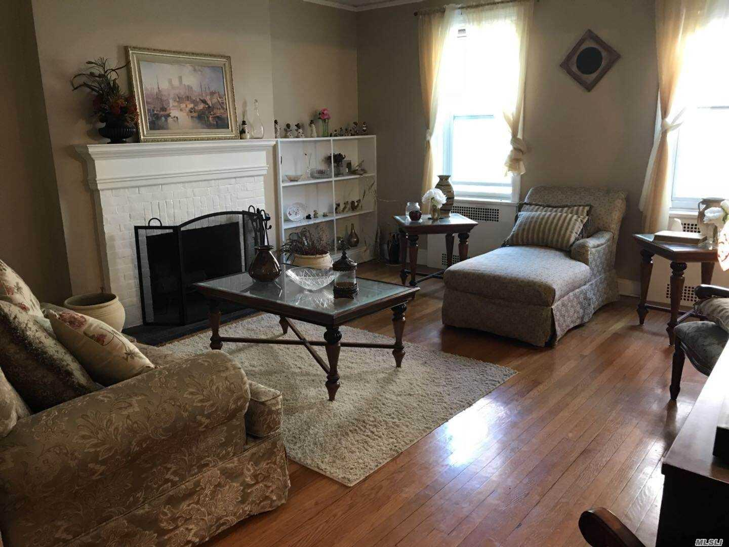 Nice 1 Bedrooms Apartment Located On A Quiet Block With Large Lr, Large Master Br, Bonus Room/Computer Room, Hardwood Floor, Some Furniture Is Included. Laundry In Building. Street Parking.It Is Co-Op, Need Board Approve.