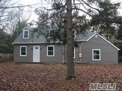 House Was Completely Redone A Few Years Ago. New Siding, New Eik, Wood Floors Throughout Living Room, Dining Room And Bedrooms, New 1.5 Baths, Oversized 1.5 Car Garage And A Full Basement All On Over An Acre Of Property.