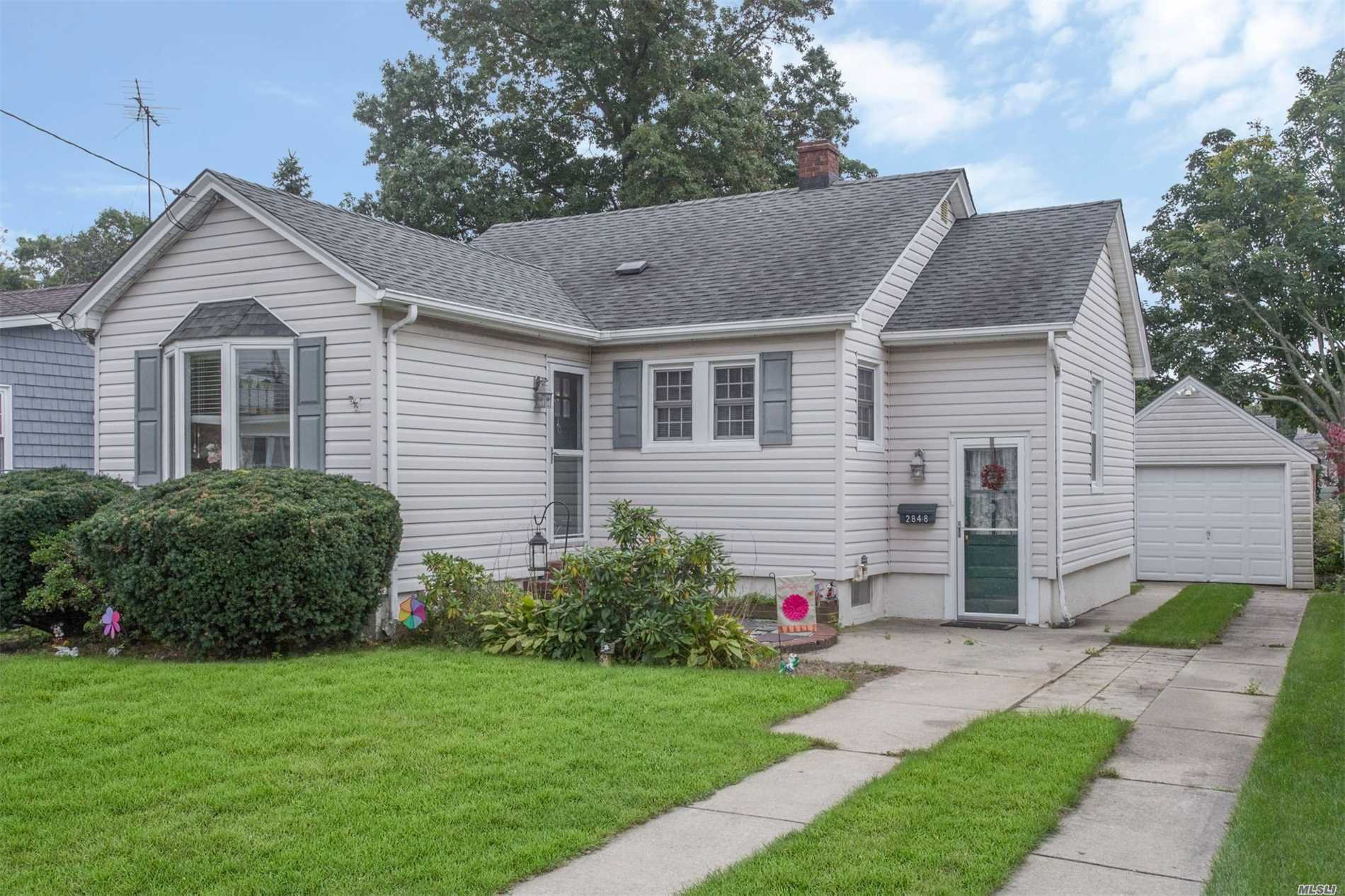 Amazing 2 Bedroom Bungalow In Bellmore. Home Boasts An Enclosed Porch, Hardwood Floors, Basement, Spacious Backyard Area For Entertaining. Taxes Are Only $6485.74. Minutes To Lirr, Shops, And Restaurants. 3D Virtual Tour, Floor Plan, & Doll House View Available. See Video Or Virtual Tour Link.