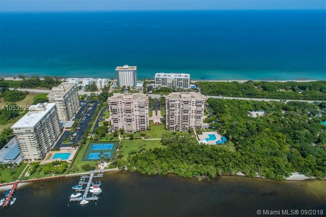Ocean Views From Every Room In This Beautiful And Spacious 3 Bedroom, 2 1/2 Bathroom Condo. La Fontana Is Perfectly Situated On A1A Between The Ocean And Intracoastal In The Heart Of Boca Raton And Has A Community Pool, Tennis Courts, Bbq Grill Area And A Marina. In Addition, There Is 24 Hour Security, Park Views And Impact Windows. Motivated Sellers! Don'T Miss Out On Your Perfect Opportunity To Join The South Florida Beach, Oceanfront Lifestyle!