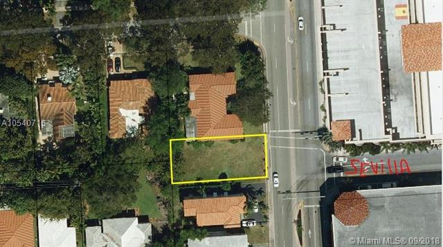 Beautiful Coral Gables Lot, Ready To Build, It Is Duplex Zoning. Lot Is In The Middle Of Coral Gables Most Desired Location.<Br />It Is A Gorgeous Piece Of Land Located In Le Jeune Business District, (42Nd Ave) Facing Seville Ave. <Br />Amazing Opportunity To Profit In New Construction. Old Duplex Selling In The 900'S.