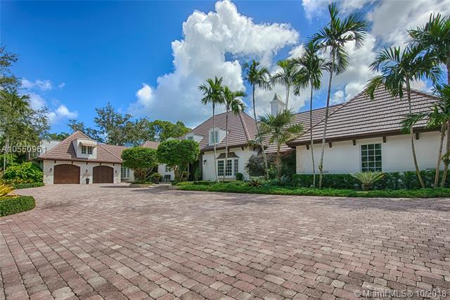 Nestled In The Exclusive, Gated Community Of Gables Estates Sits This Recently Remodeled 8 Bedroom 8 1/2 Bath Home Situated On Over An Acre With 200 Feet Of Water Frontage. A True Miami Gem. 24Hrs Notice. <Br /><Br />See Supplemental Remarks For Property Description.