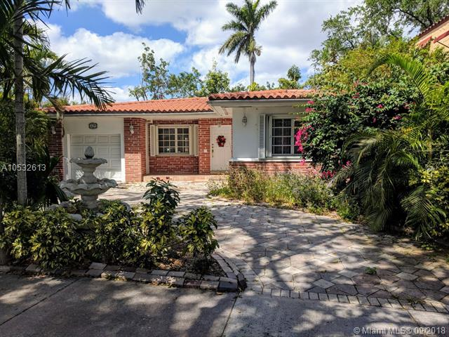 Great Location In The Heart Of Coral Gables. Beautiful Tree Lined Street. This Home Ready For Right Buyer To Update It.Three Bedrooms 2.5Baths. Two A/C Units, Spacious Foyer, Living Room And Dining Room. One Car Garage. Great Schools. Walk To Merrick Park, Coral Gables Library And Youth Center. Nice Size Lot(6, 585Sqft) And Living Area More Than 2, 100Sqft. Owner Requests 24 Hrs Notice. No Sign On Property.