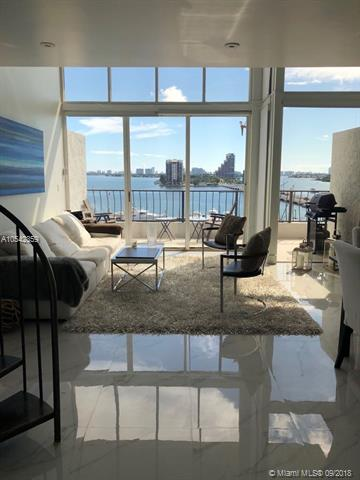 One Of Just A Few Loft One Bedroom Units In Venetia With Amazing Bay Views! Great Location On The Venetian Causeway Close To People Mover. Close To Highways, Shopping And Entertainment. Unit Comes With One Assigned Parking And Has Washer/Dryer Combo.