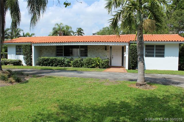 Rare Opportunity In The Prestigious Ponce Davis Neighborhood. The Nearly 3/4 Acre Corner Lot Is Situated On The Historic Old Cutler Road. Your Chance To Build A Brand New Dream Home Or Remodel Existing Home Which Features A 3/2.5 Split Floor-Plan, Large Master Suite, Vaulted Ceilings, Pool, Central Open Patio Area That Is Great For Entertaining, New Wood Floors, Front And Rear Driveways, Utility Room, Legal Shed, City Water, And More.