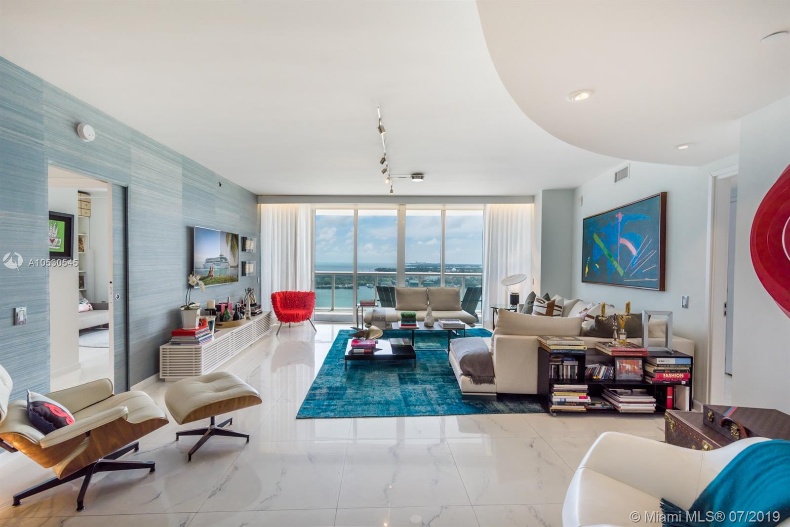This Completely Renovated Icon South Beach Condo Offers An Expansive 2, 158 Square Foot Floor-Plan With Ocean, Bay And City Views. Three Bedrooms And Three Bathrooms Tastefully Designed And Ready To Call Home. Enjoy The Expansive Indoor And Outdoor Living Spaces, Perfect For Entertaining. With A Full List Of First Class Amenities, 24 Hour Concierge And Complimentary Valet For All Of Your Guests, Icon Is One Of The Most Desirable Residential Buildings In The Prestigious South Of Fifth Neighborhood Of Miami Beach. This Is A Must See!