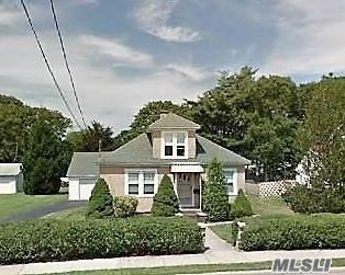 Charming Custom Home Situated On 75 X 200 Parcel In East Islip.  Beautiful Grounds, Large Living Space With Great Flow! Enclosed Sunporch, Livingroom, Formal Diningroom, Eat In Kitchen W/ Walk In Pantry And Entry To Magnificent Yard. Two Bedrooms On First Floor, 2 Bedrooms Up With Foyer Area And Attic For Expansion. Great Workmanship, Golden Oldie! Updates Will Make This Your Dream Home. Full Basement And Two Car Detached Garage. East Islip Schools.