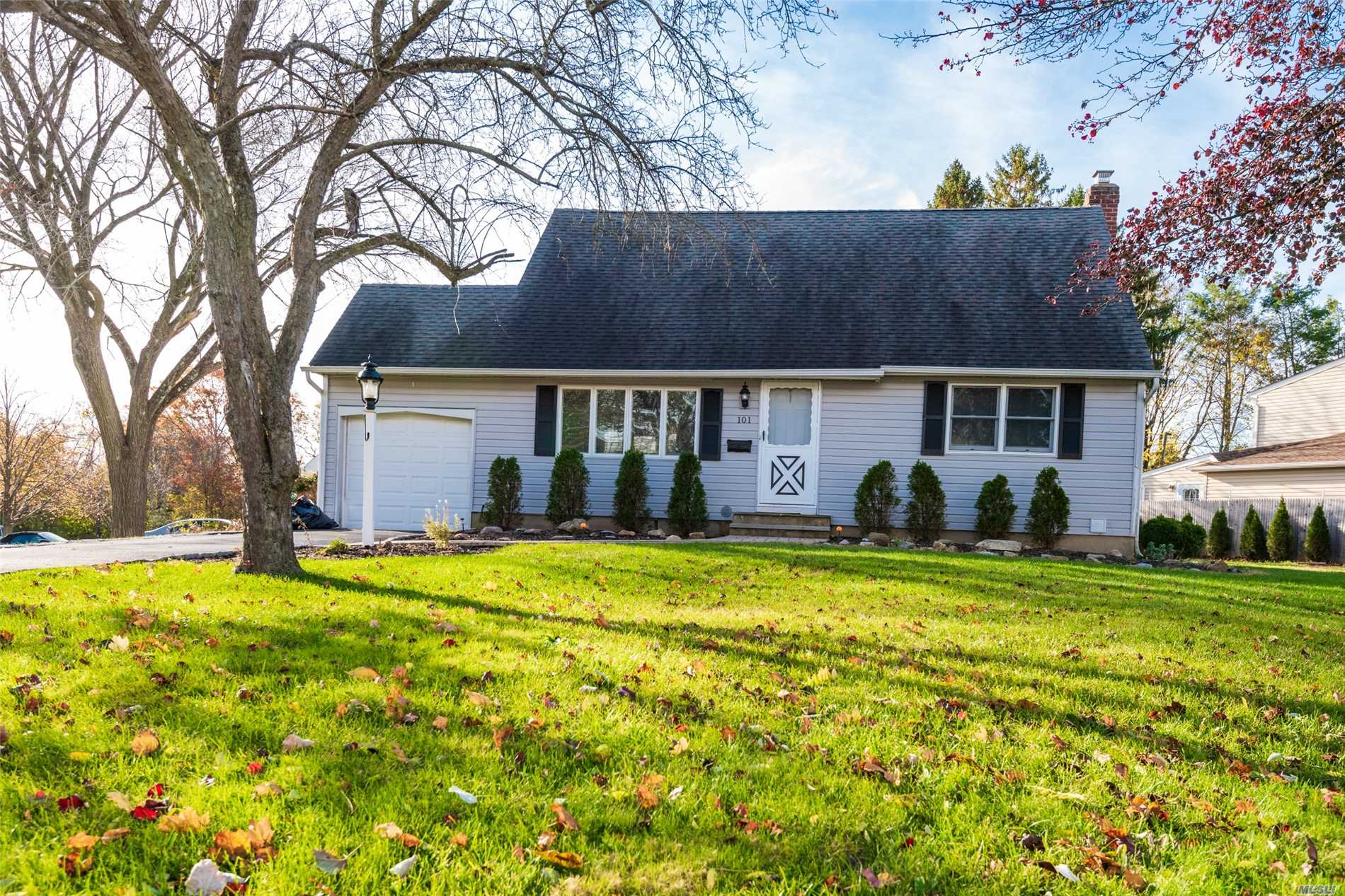 Nice Corner Cape With Attached Garage. All New Appliances . Updated Bathrooms Beautiful Wood Floors.