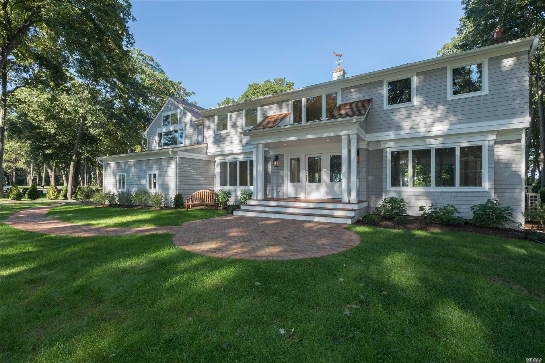 Fabulous Waterfront/Waterview! Completely New!! Built With Fine Details. Magnificent, Panoramic Views From All Principal Rooms.This Property Offers A Permanent Deeded Easement To Direct Beach Access.The Interiors Boast Custom Millwork, Hardwood Floors & High-End Baths.The Exteriors Include Maibec Perfection Shingles, Cedar Roof, Azek Trim, Ipe Decking, Gunite Pool & Professionally Designed Landscaping. Adjoining Property Can Be Purchased Separately To Create 4-Acre Waterfront Compound.
