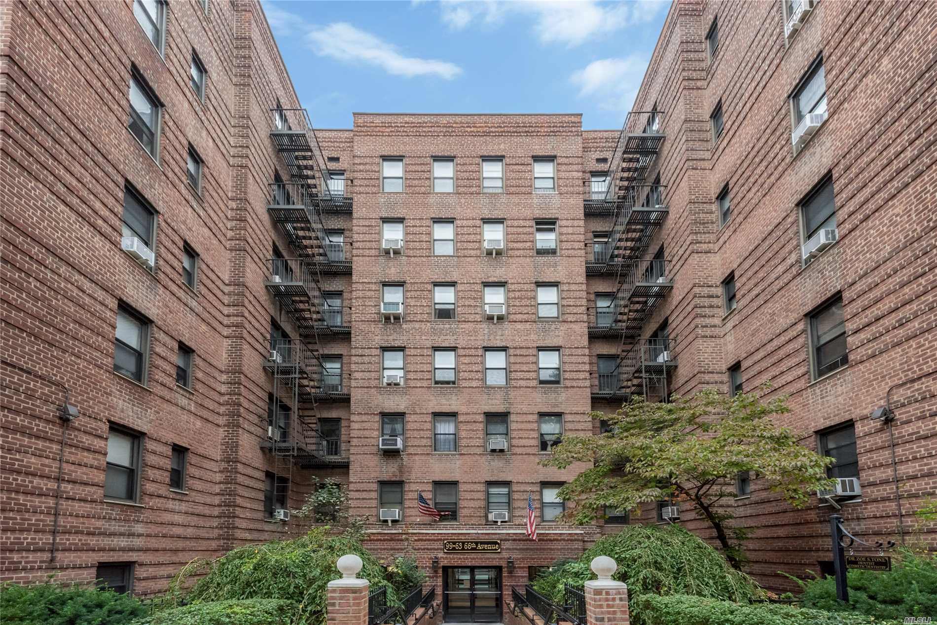 Rego Park. Bright And Beautiful Jr-4/2 Bedrooms With Many Closets, Very Low Maintenance Of $612.48 Heat And Water Included. 2 Blocks To Subway On 67th, Local Shopping, Major Malls. New Carpet, New Light & Fixture, New Painting On Wall & Ceiling, New Door, New Washer And Dryer In The Building.