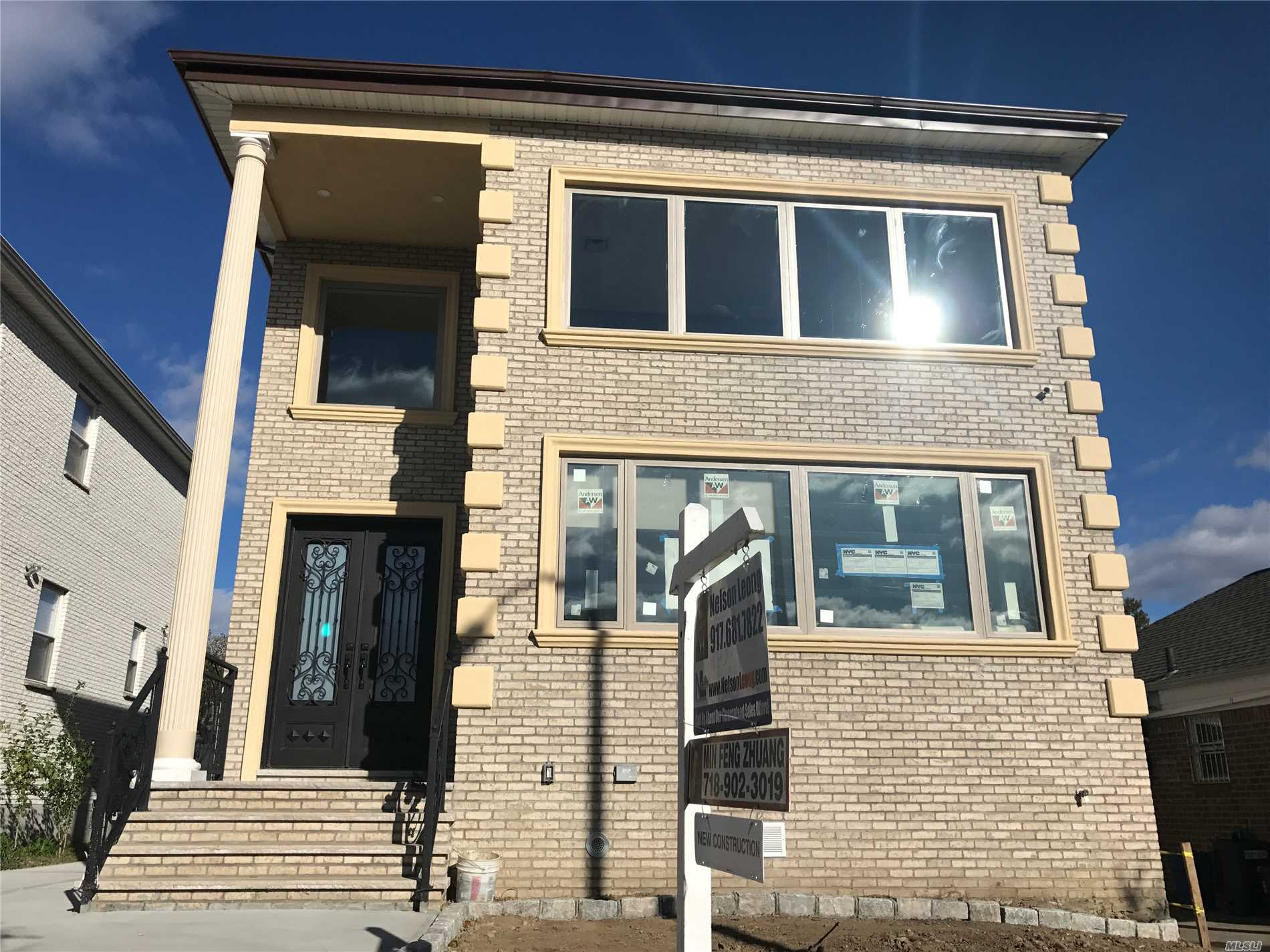 New Construction On A Quiet Street. This House Is Designed And Constructed By Pure Nyc. It Features Top Of The Line Appliances, Italian White Cararra Marble, Duravit Toilets. The House Was Built And Reinforced With Steel I-Beams To Create A One Of A Kind Open Concept For The Basement And First Floor. This Is The First Of Its Kind In Fresh Meadows And Surrounding Areas. Close To The Park And Convenient To All Transportation And Roadways.