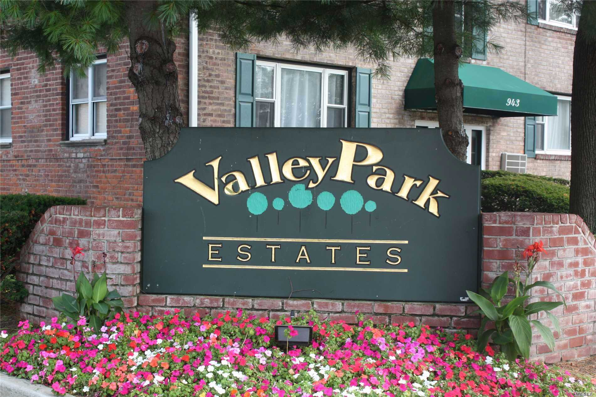 Pristine Valley Park Estates...1 Bdrm Upper Nestled On Tree Line Block. Updated Kit & Bath. Bright/Sunny/Airy. . 2 On-Site Laundry Rooms. Close To Schools, Parkways, Board Requires Credit Score Of >675 & 20% Down. Income Requirement-Maint. & Mortgage Not Exceed 35% Of Income. Pet Friendly Property--1 Dog Under 35Lbs Permitted.