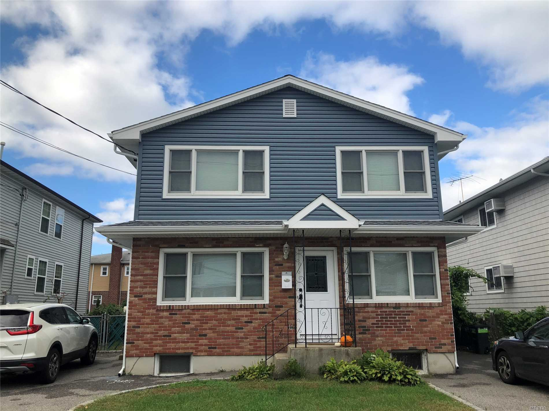 Large Recently Updated 2 Family Home. Great Investment Opportunity. Each Unit Consists Of 3 Brs, 1 Full Bath, Updated Eik, Lr/Dr. Private Laundry And Off-Street Parking. Walking Distance To Manorhaven Park, Pool & Beach.