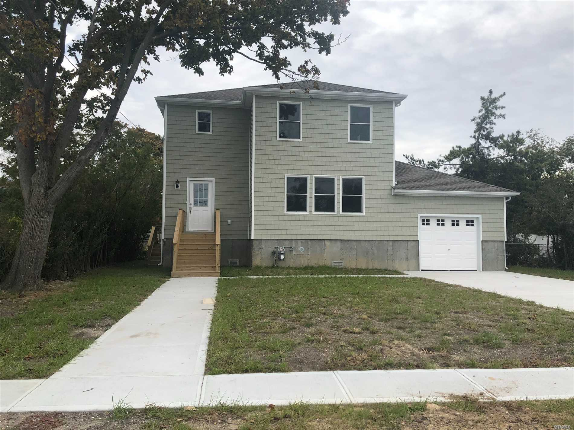 Newly Raised All New Colonial With Green Features. Entry Foyer And Large Country Kitchen, Livingroom, Dinning Room 4/5 Bedrooms, 2 Bathrooms And Garage. Cable Ready, Cac,  Large Property Fenced Rear Yard.