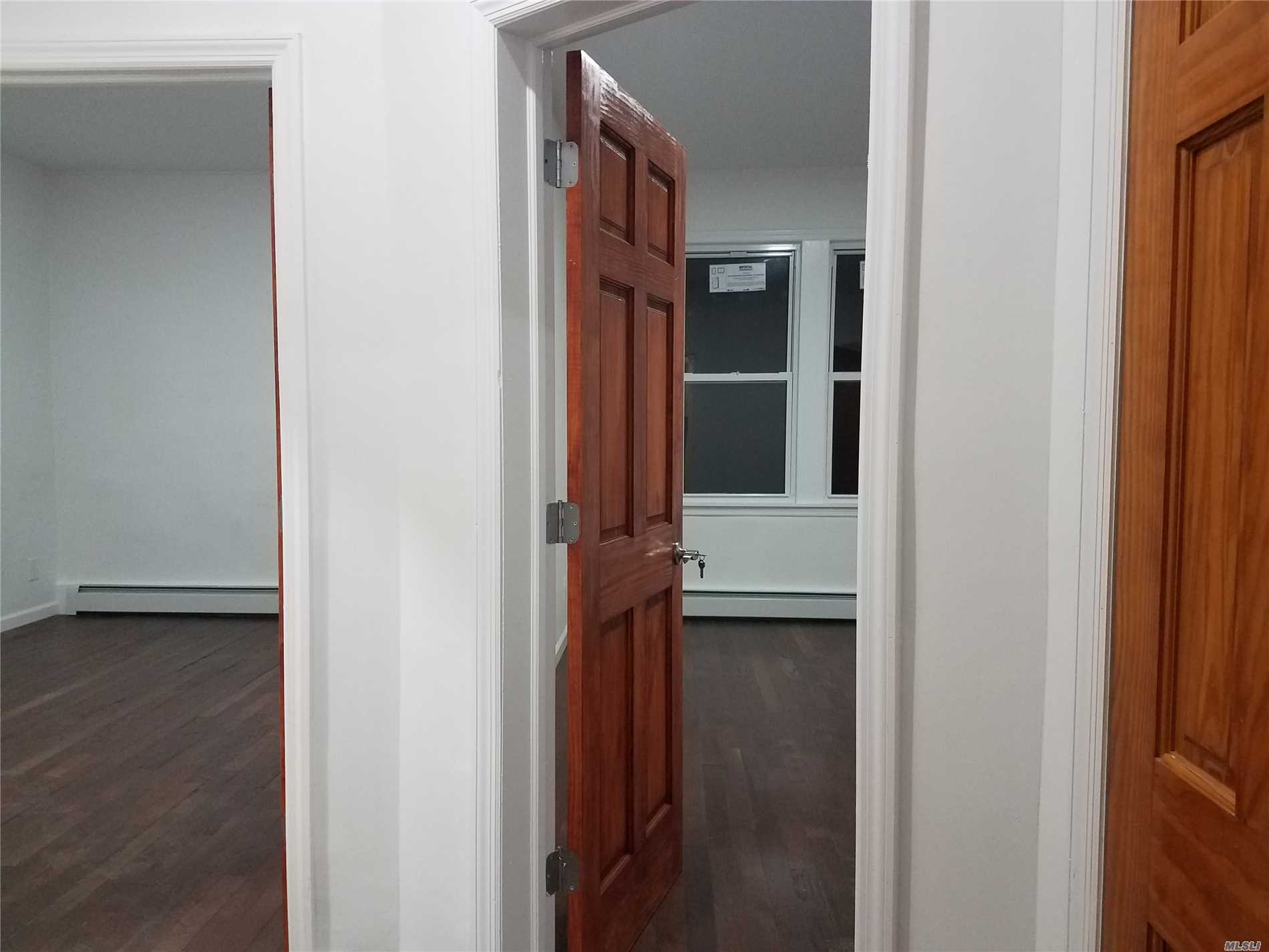 Totally 100% Renovated 3 Br Duplex Apartment - 2nd Floor And Attic Together. Huge Bedrooms With Big Closets. The Kitchen Has All New Stainless Steel Appliances, Stone Counter-Top. Beautiful Modern Tiles In The Bathroom. New Hardwood Floors All Through The Apartment.