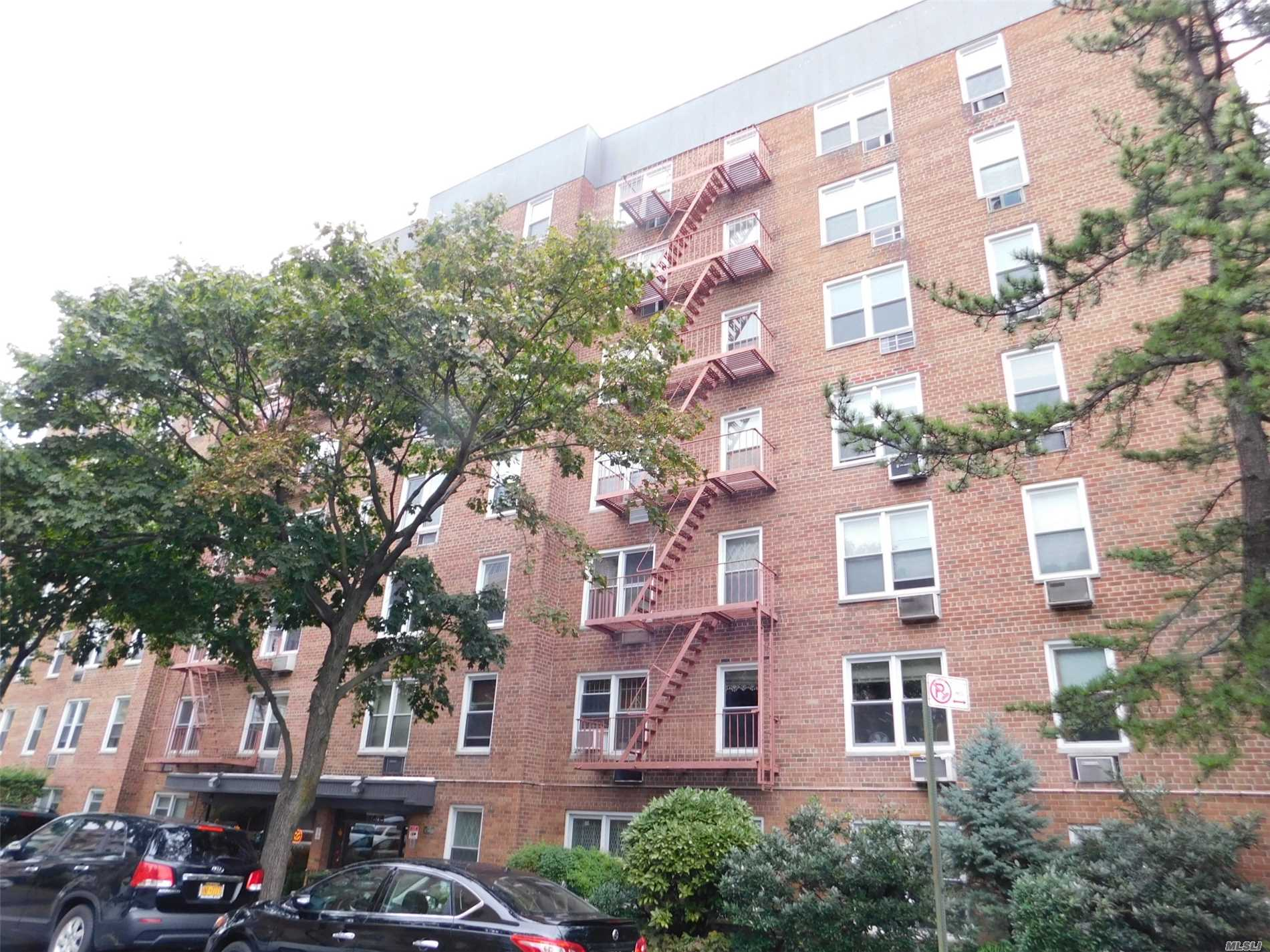 Large 1 Bedroom Ready To Move In, Nice Kitchen And Bath. Can Be Seen At Any Time. Well-Maintained Apartment In A Well-Maintained Building Excellent Street Parking Garage Is Available. Ps 144 Two Blocks To Trader's Joe. Two Blocks To Express Buses To Midtown Manhattan