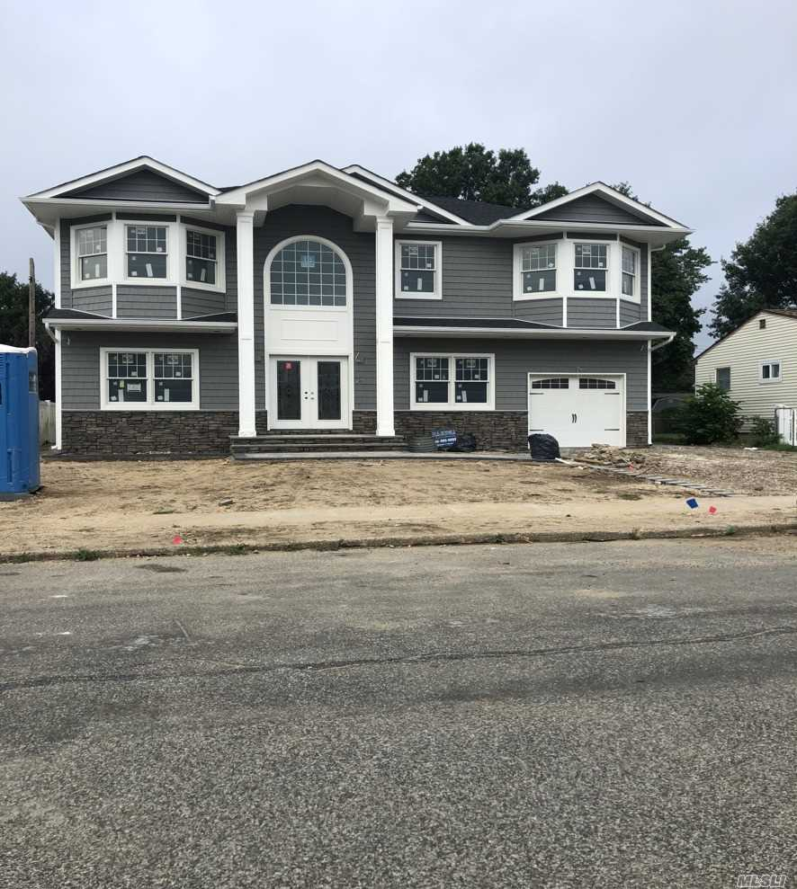 **Brand New Home To Be Built**. Lg. Prop. Mstr. Br. W/High Ceiling, 5/6 Brs., 3 Full Baths. Gourmet Kit. W/Ss Appl. Custom Cabinets & Granite Counter.Gleaming Hardwood Floor Thru Out The House. Laund. On 2nd Flr. Lots Of Hi-Hats. First Floor 9 Ft. Ceiling. Energy Star Center Hall Colonial. April 2019 Completion. **Still Time To Customize**. Picture Is For Illustration Purpose Only. Final May Be Different.