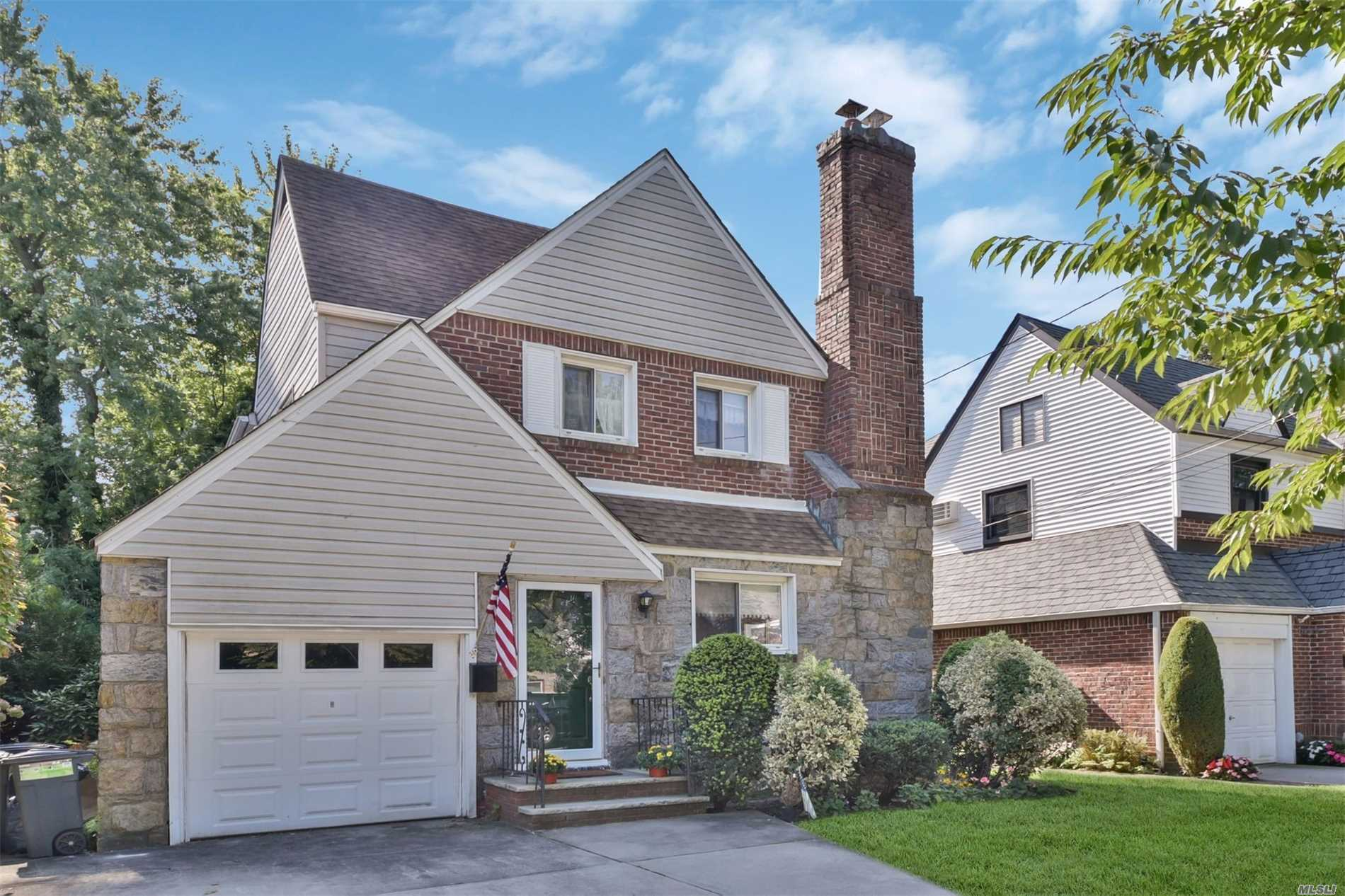 This Beautiful 3 Bedroom Colonial Is Located On A Quiet Tree-Lined Dead End Street In The Village Of Floral Park. The First Floor Features A Lg Living Rm, Formal Dining Rm, Kitchen, And Den. The Second Floor Features 3 Bedrooms And A Full Bath. The Beautifully Landscaped Backyard Makes It Perfect For Entertaining And Bbqs. The House Is In Close Proximity To The Lirr, Covert Avenue Shopping And Restaurants. Great Location! Must See!