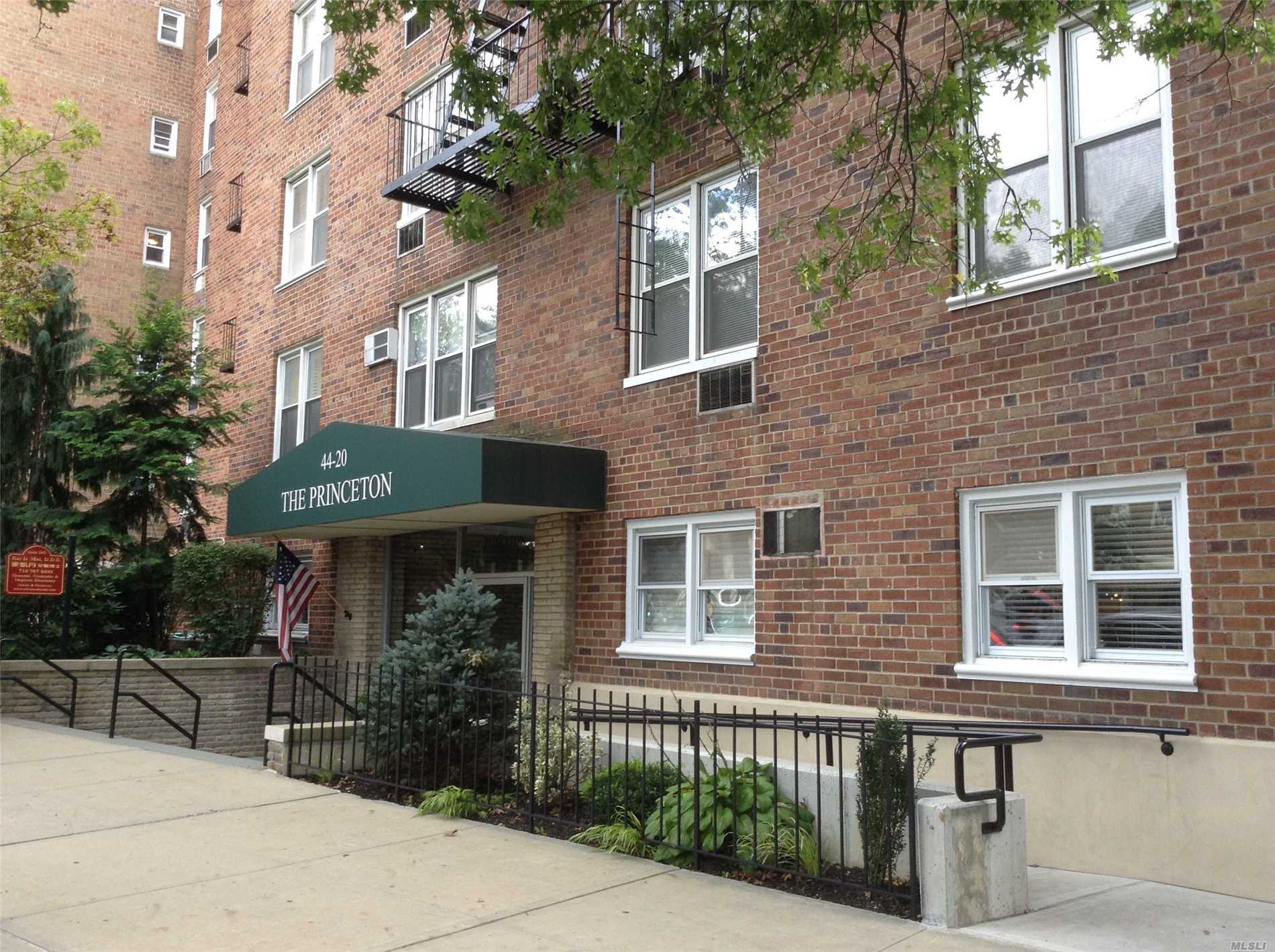 Outdoor Parking Spot Included With This 3rd Floor Studio In The Princeton Building. Elevator Building With Laundry In Basement Heat Included. Extra Closets, Kitchen Counter And In Wall Air Conditioner. Monthly Fee For Parking Included With Maintenance (391.13 + 65.00 = $456.13 Total) Close To Lirr Buses & Shops
