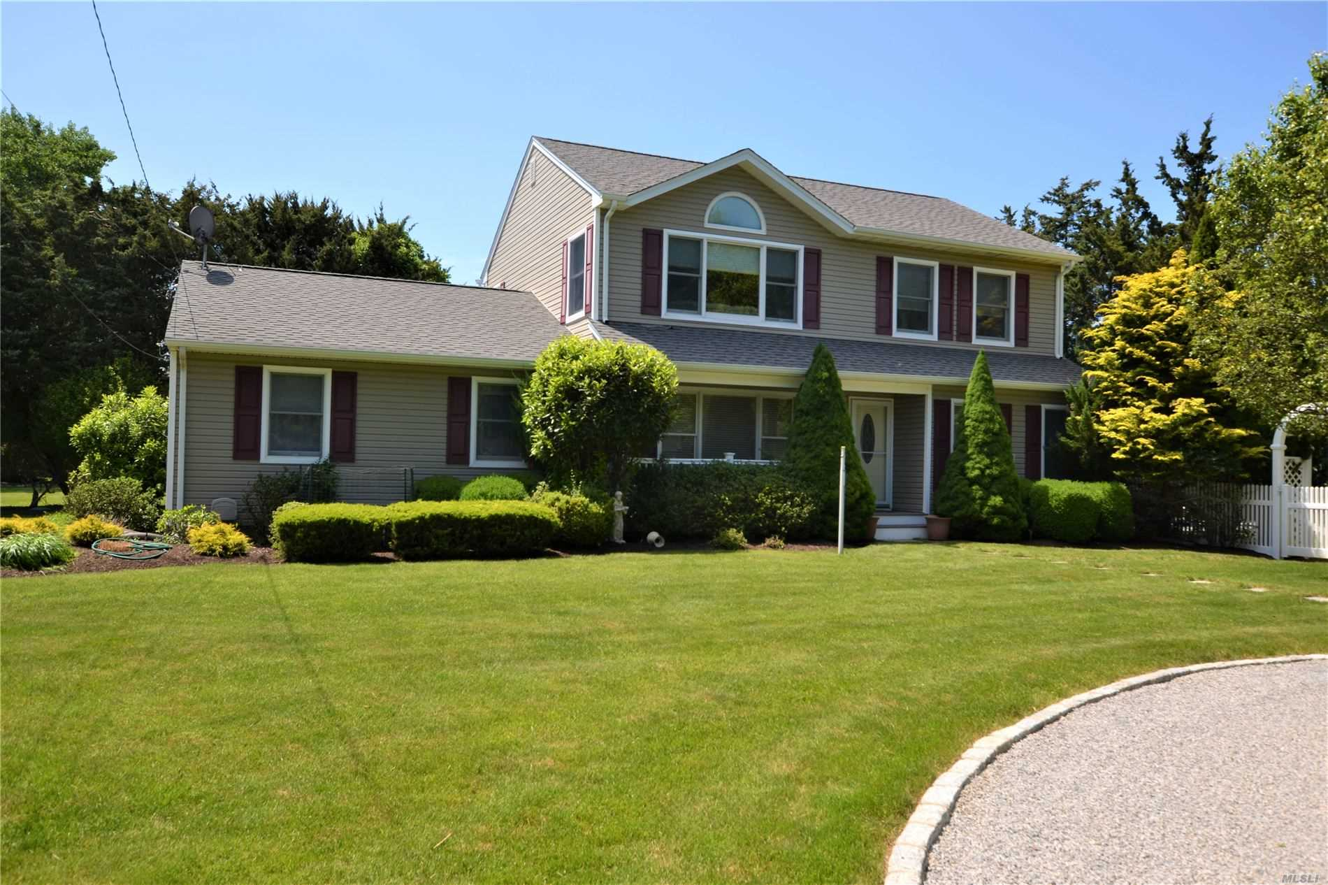 This Turn-Key, South-Of-The-Highway Post Modern, Offers 5 Bedrooms, 4 Full Baths, Eik, Formal Dining Room, Living Room, Mud Room And Finished Basement. The Private Grounds Offer An In-Ground Pool And Mature Landscaping. Set On Desirable Tanners Neck Lane, A Short Distance To Main Street And Village Beaches. This Home Is A Great Value For Under 1 Million.