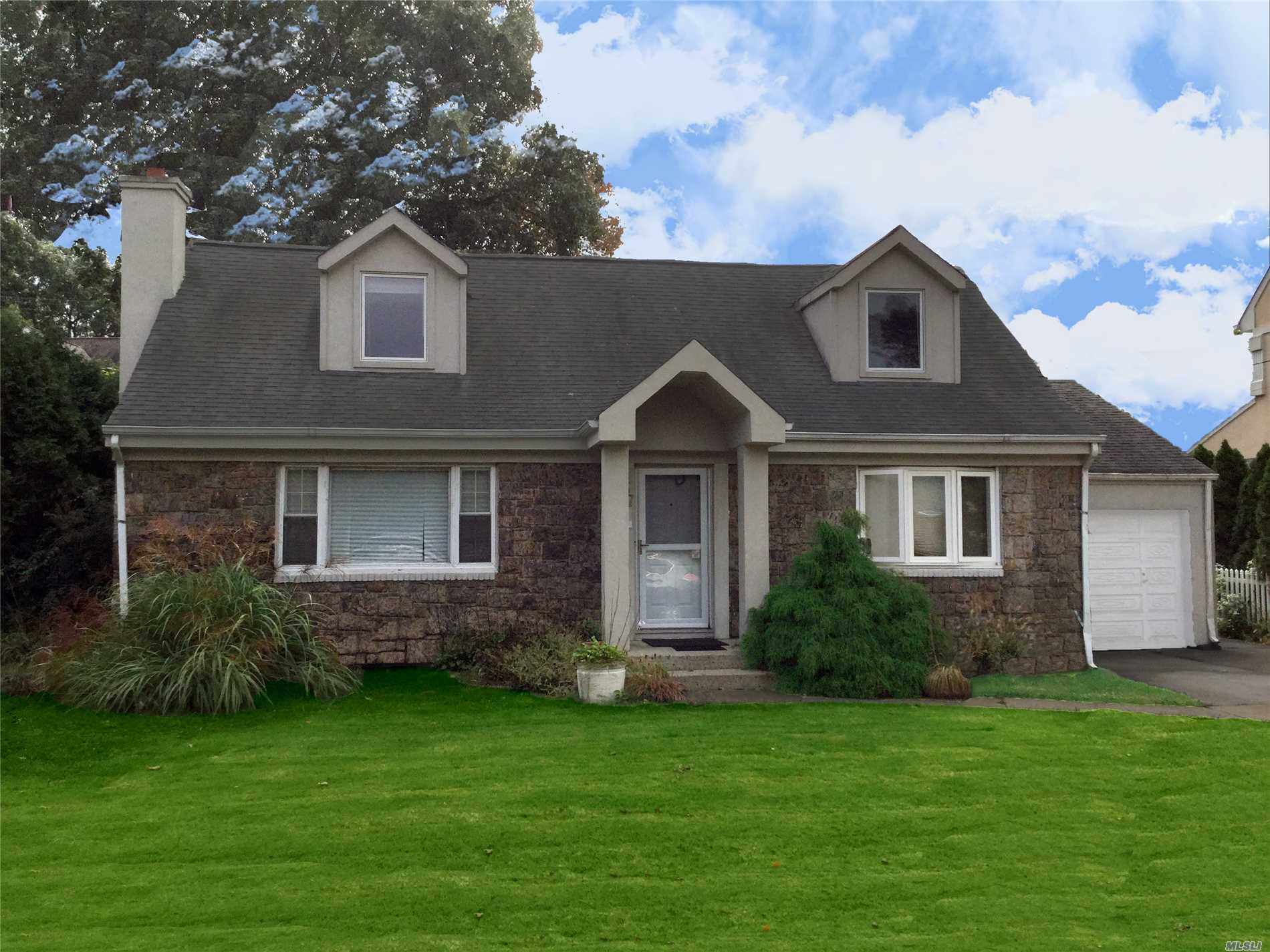 ***Seller Will Pay School Taxes For 2018/19** Expanded Cape In The Heart Of The Dogwood Area. Rear 20 X16 Ft Family Room Extension W/ Fpl & Sliders To X/Lg Yard. Huge Upstairs Bedrooms, Updated Baths, Family Rm Can Support Future Second Floor Enlargement, Pool Is A Gift And Has Access To Fbth. Updated Electric. Taxes In Process Of Being Grieved .