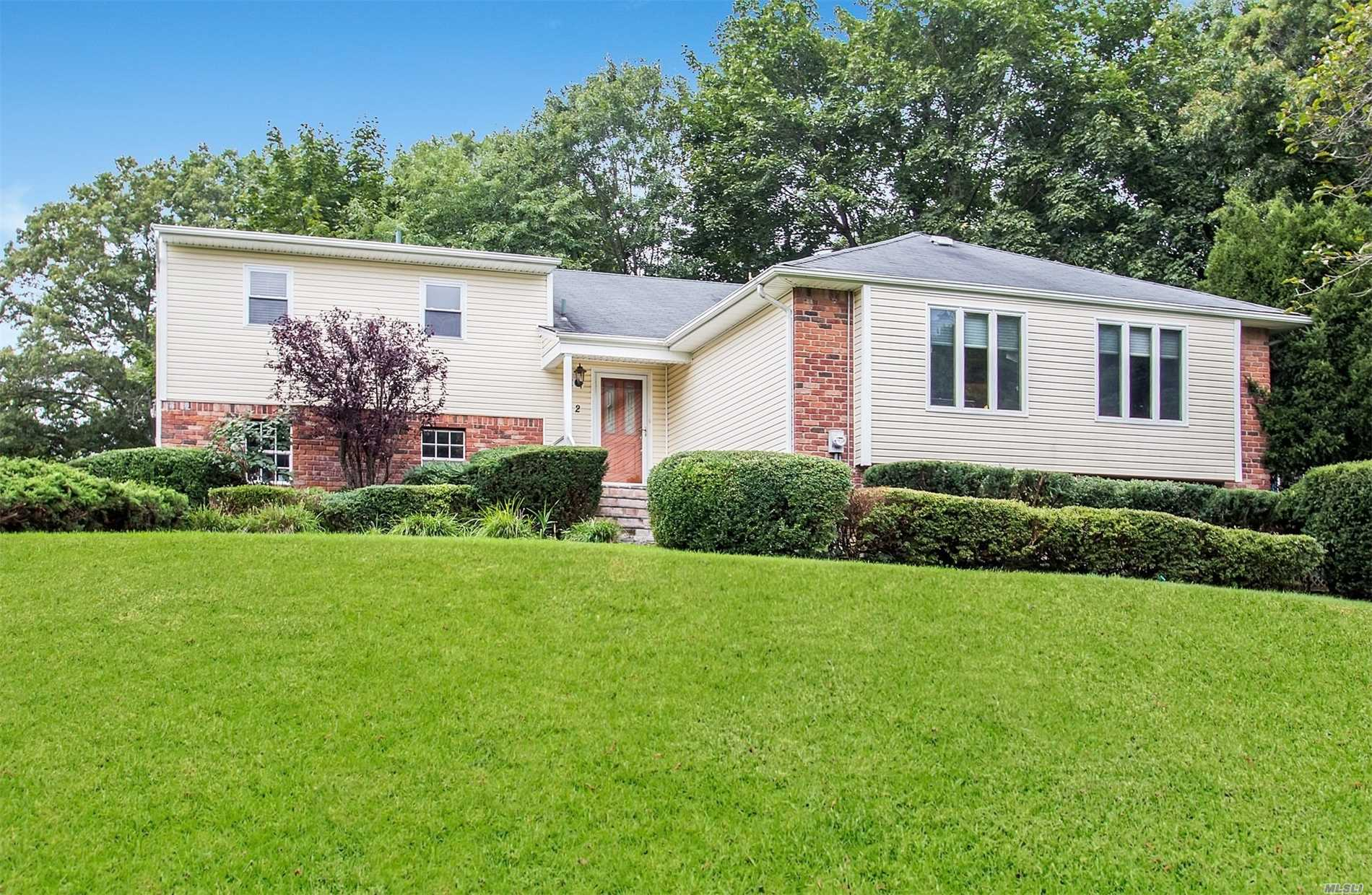Wonderful Wichard Front To Back Split, 4 Br, 2.5 Updated Baths, Great Room, Beautiful Hardwood Flooring, Updated Windows, New Cesspool, Newer Siding, Updated Eik W/Maple Cabinetry/Granite/Stainless Steel Appliances, Recessed Lighting, Central Ac, Closet Systems, Economical/Quiet Gas Hot Water Heat. Taxes With Basic Star $15, 959.96.