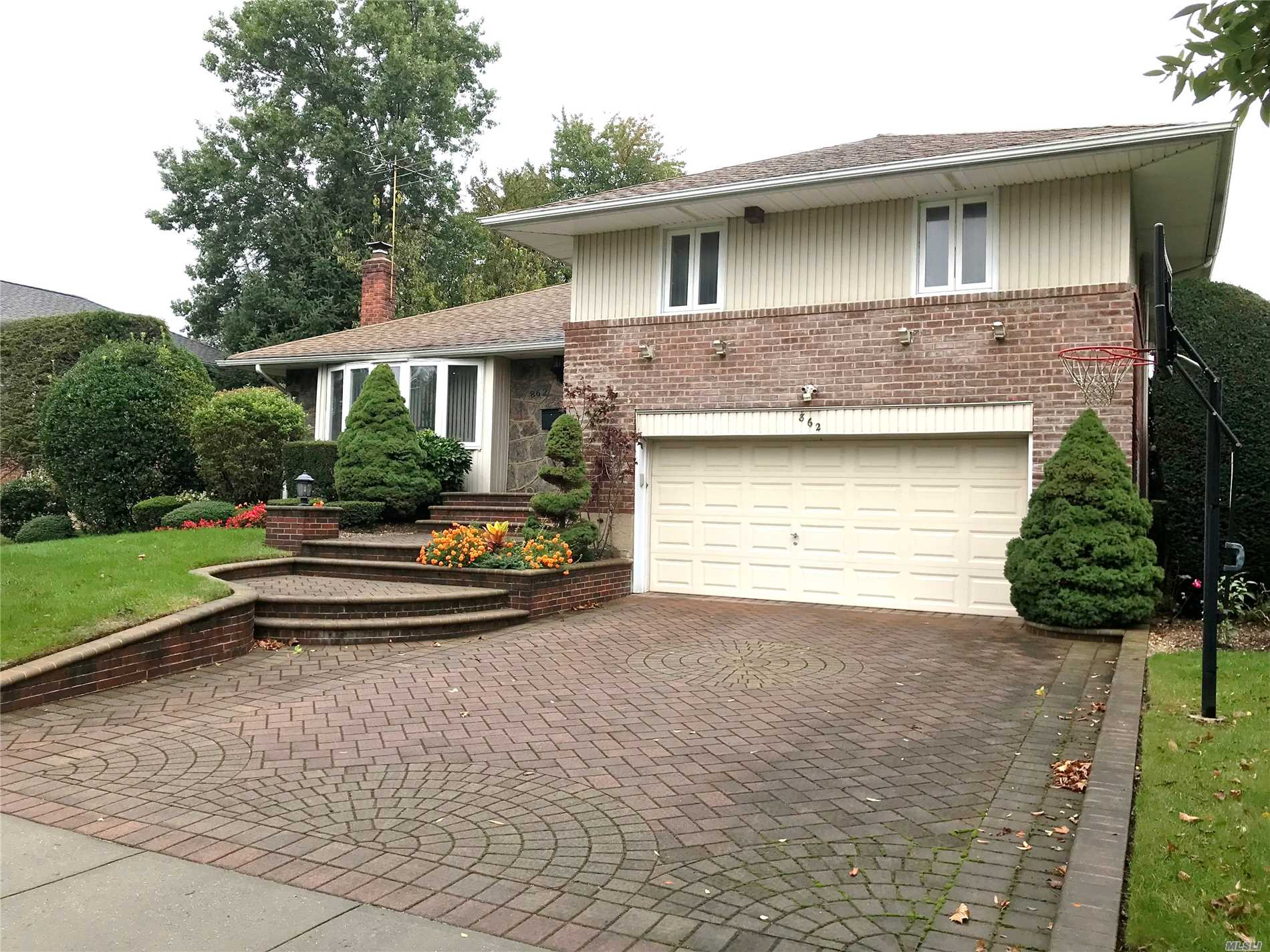 Split In Salisbury/East Meadow Schools With 3 Bedrooms, 2.5 Baths, Full Finished Basement And 2 Car Garage.
