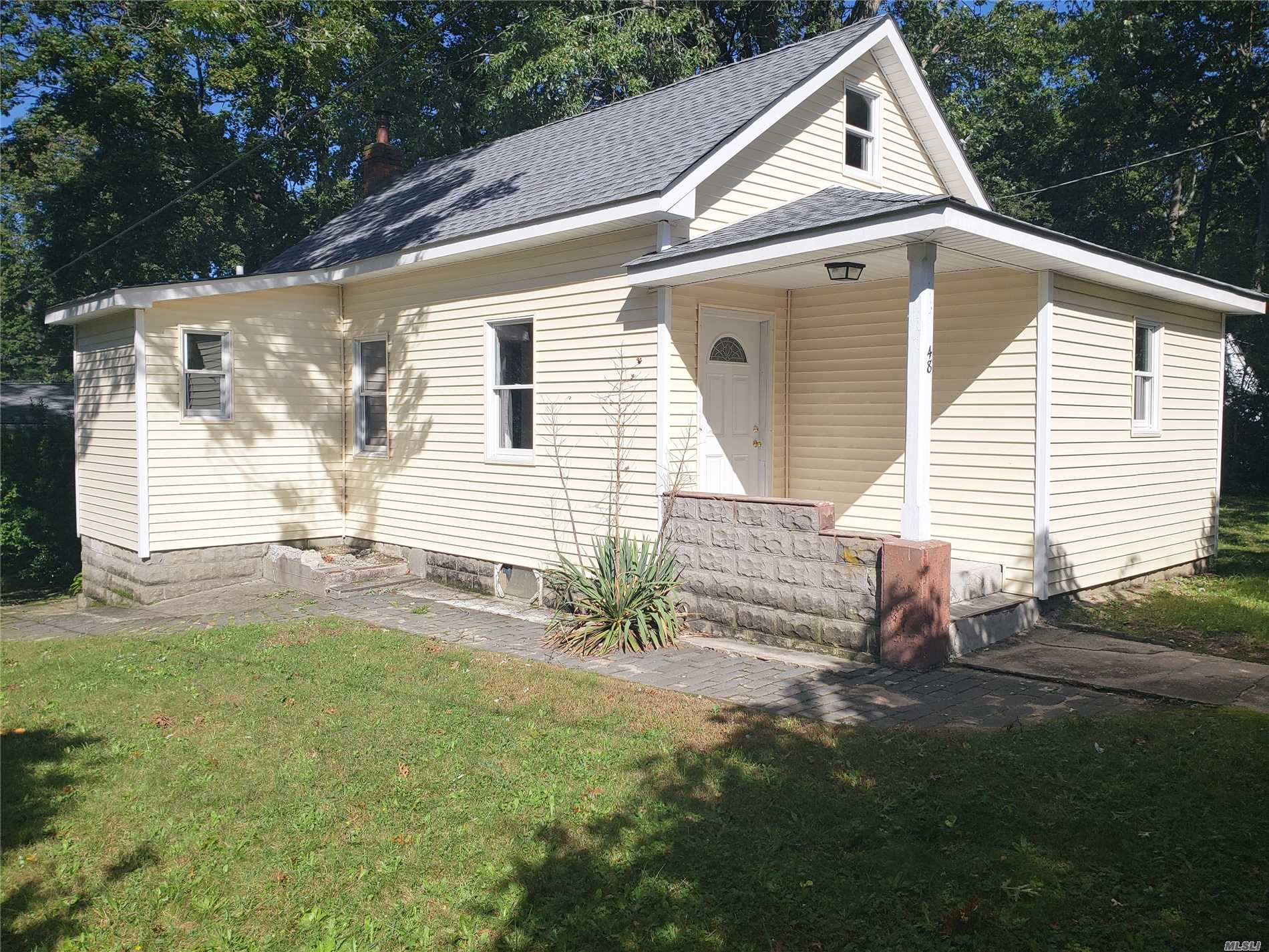 Beautifully Renovated Home Features All New Windows, Led Lighting, Appliances, Hardwood Floors, New Kitchen And Bath, Ample Closets And Full Use Of The Basement, That Also Includes Washer And Dryer Hookups Along With Additional Storage Space.