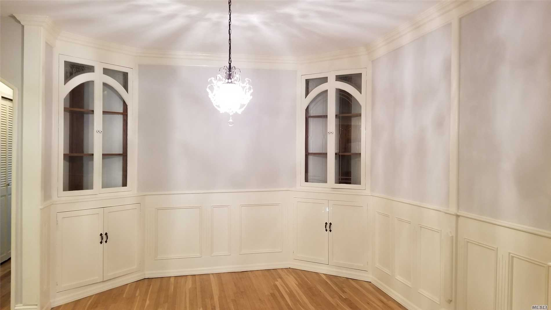New Renovated, Hard Wood Floor, Large Master Bedroom, Plenty Of Closets, Near To Lirr, Restaurant, School District 26. Inc. Heat