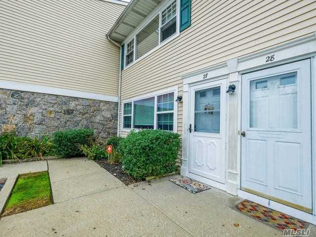 Centrally Located In The Village Of Farmingdale, This Special Condo Has It All. Beautiful Unit On 1st Floor With Laundry, Walk To Train Station And Main Street For Shopping, Dinning And More! Large Living Room, Separate Formal Dinning Room (Or 2nd Bedroom), Full Updated Bath And Parking. Nothing Else Like This Condo On The Market.