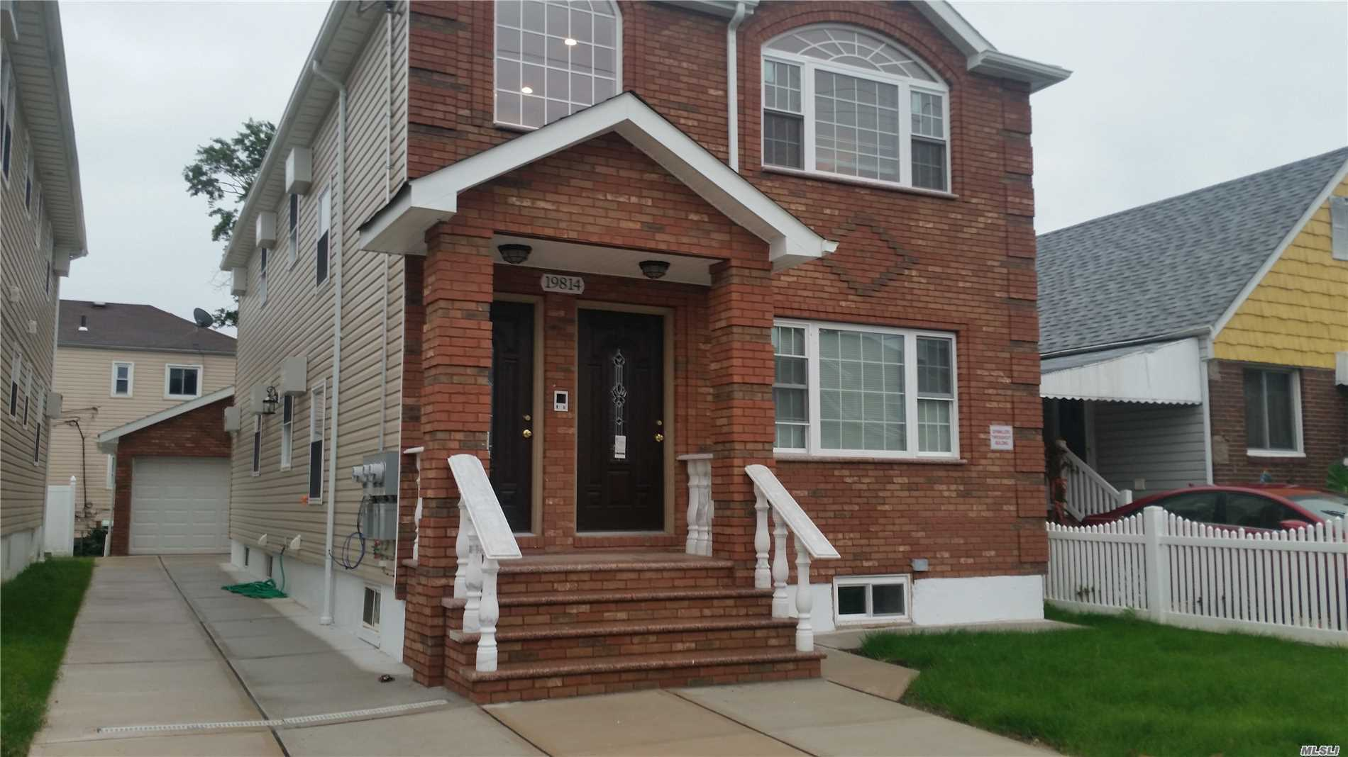 Brand New Construction Well Made Home Great Location Big Master With Full Bath & Walk In Closet Finished Basement With High Ceiling And Separate Entrance .