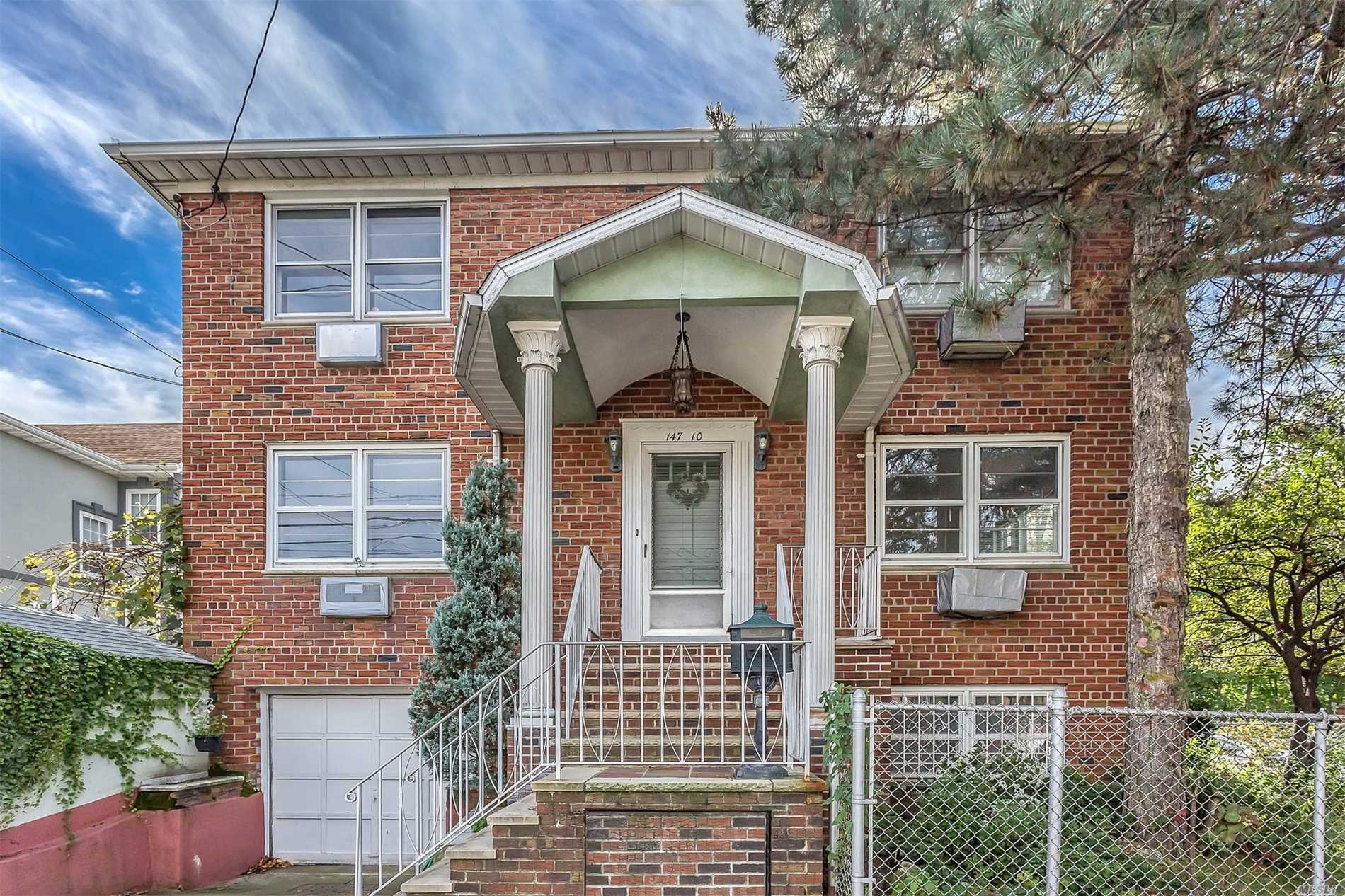 Great Location -District 25 Schools. Brick Colonial, 3 Bed Rooms 2.5 Baths --Wood Floors With A Great Layout.