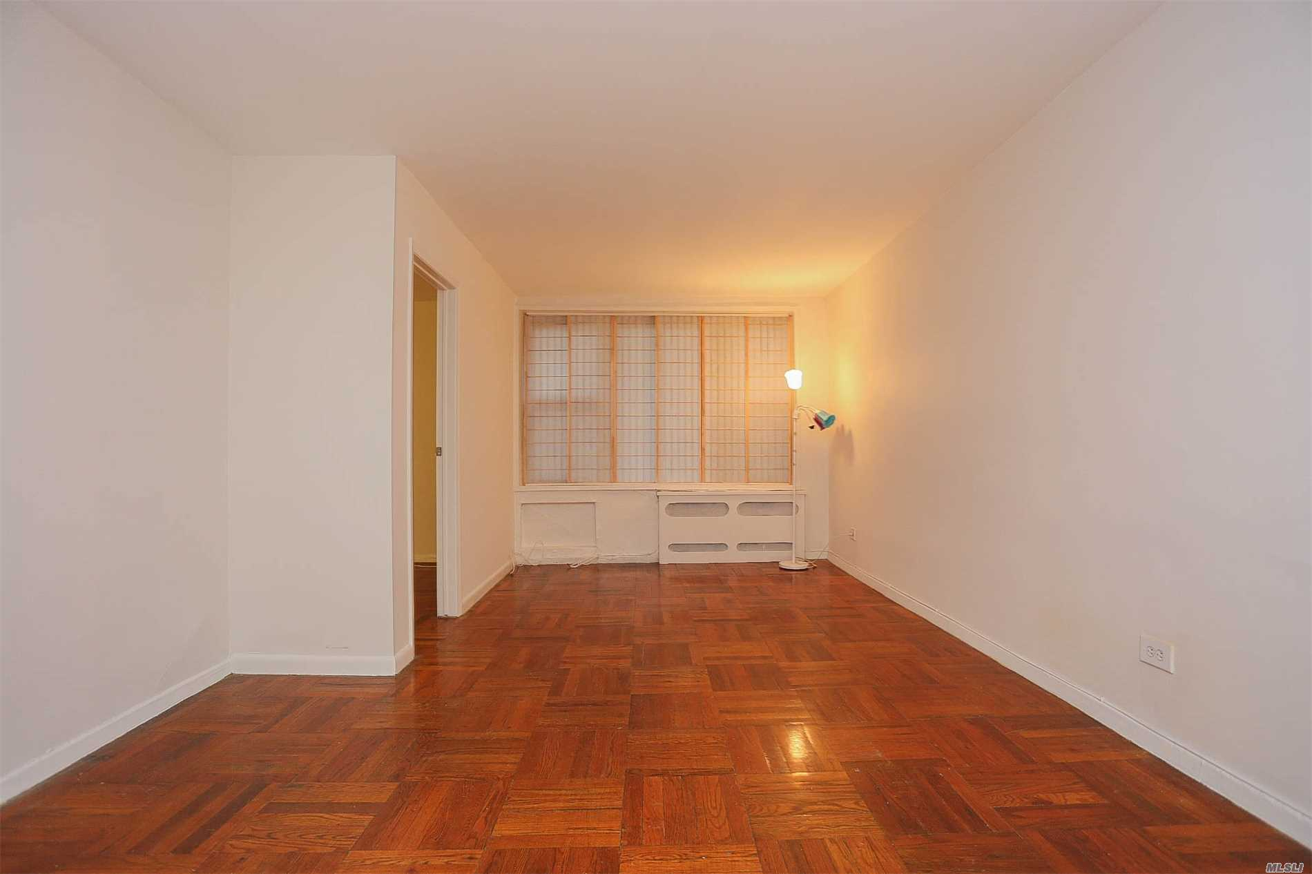 Gorgeous Alcove Studio For Sale In Elmhurst, Queens. Immediate Subletting Is Allowed Which Makes This A Great Opportunity For Investors And End Users Alike. Located Less Than 1 Block From The M & R At Elmhurst Ave, This Unit Features A Recently Repurposed Kitchen, New Appliances, Full Bath, Hardwood Floors, And A Fully Partitioned Room That Makes The Apt Function More Like A 1 Bedroom Than A Studio. Building Features Secured Entry, Laundry, On-Site Super, Pet Friendly And Much More.