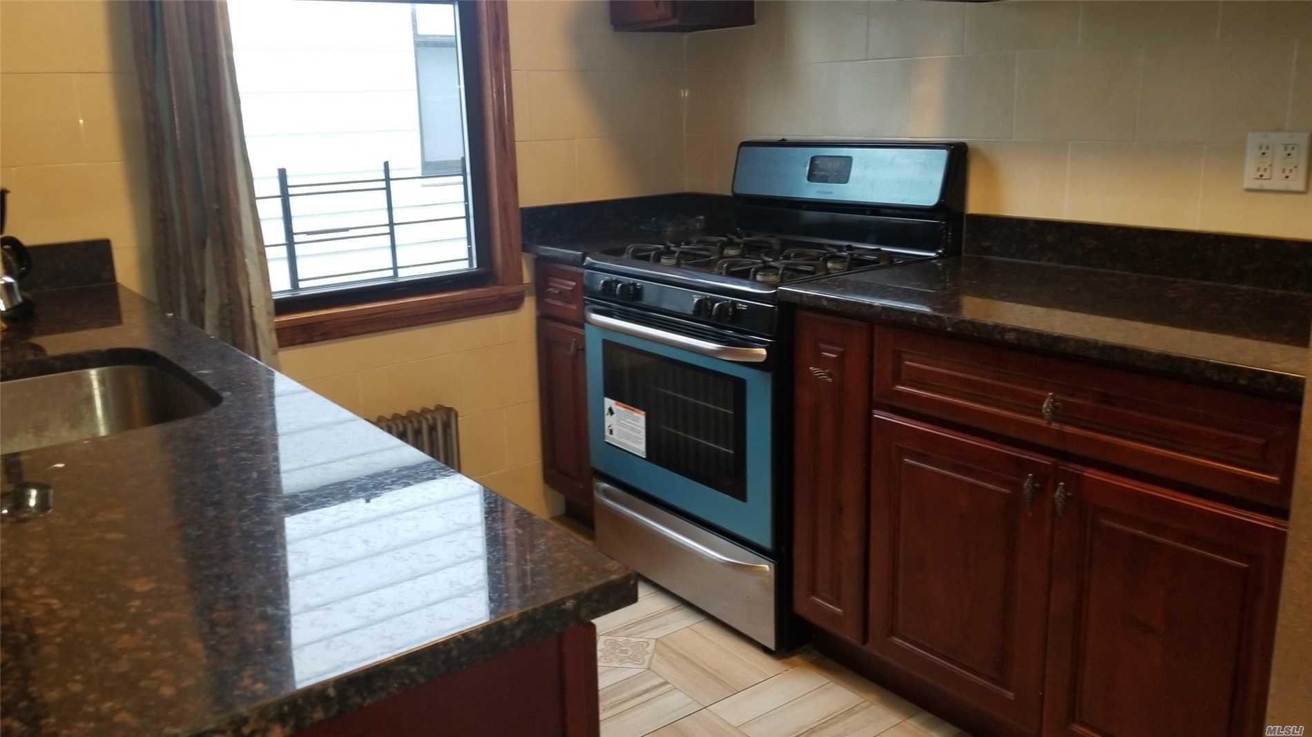 2-Bedroom, Living Room, Eff Kitchen, Full Bath, Walk To Public Transportation, Schools, Park, Queens Center Mall