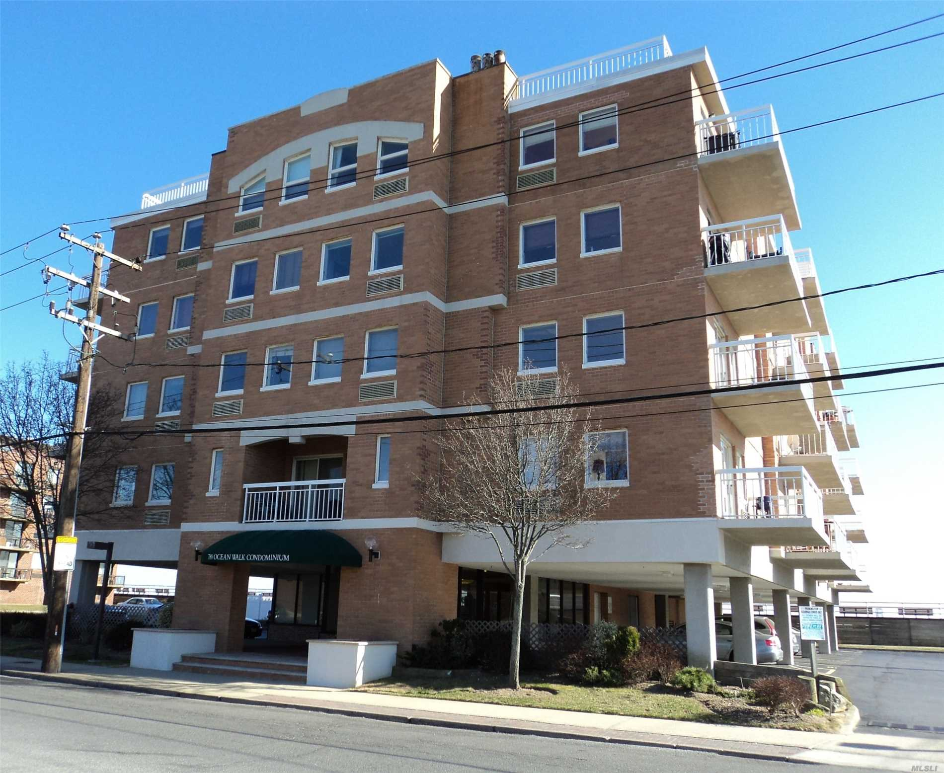 Furnished Off Season Rental Until 5/15/19. Cozy One Bedroom, One Bath Condo With Terrace And Ocean View. Unit Has Wood Floors, Updated Kitchen And Bathroom, Desk Area. Washer/Dryer In Unit. Building Has Parking, Gym, Roof Top Deck. No Pets. Ocean Walk Condo.