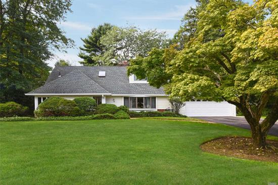 Very Tranquil Landscaped Property, Wonderful Internal Footage With A Flow! Attend Great Neck South, Lake Success Village Perks.