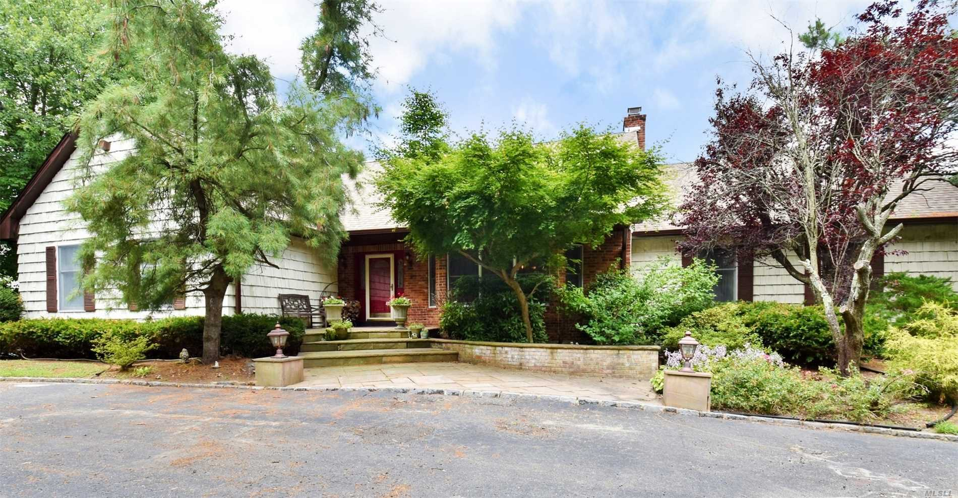 Owner Wants To Hear All Offers!!! 5700 Sq Ft Of Living Space At $140. A Sq Ft! Entertainers Delight In A Million Dollar Plus Location!! 5 Bedroom, 5 Bath Is Ideal For Extended Family Or Possible Mother/Daughter. Enjoy An Oversized Chefs Kitchen, Great Room W/ Fieldstone And Cathedral Ceiling, 2 Master Suites, New Baths, New Roof, Updated Electric, 2012 Furnace And More. Park Like Property W/ Specimen Plantings, 20X40 Igp, Circular Drive W/ Belgium Block Aprons, 2500Ft Walk Out Basement!