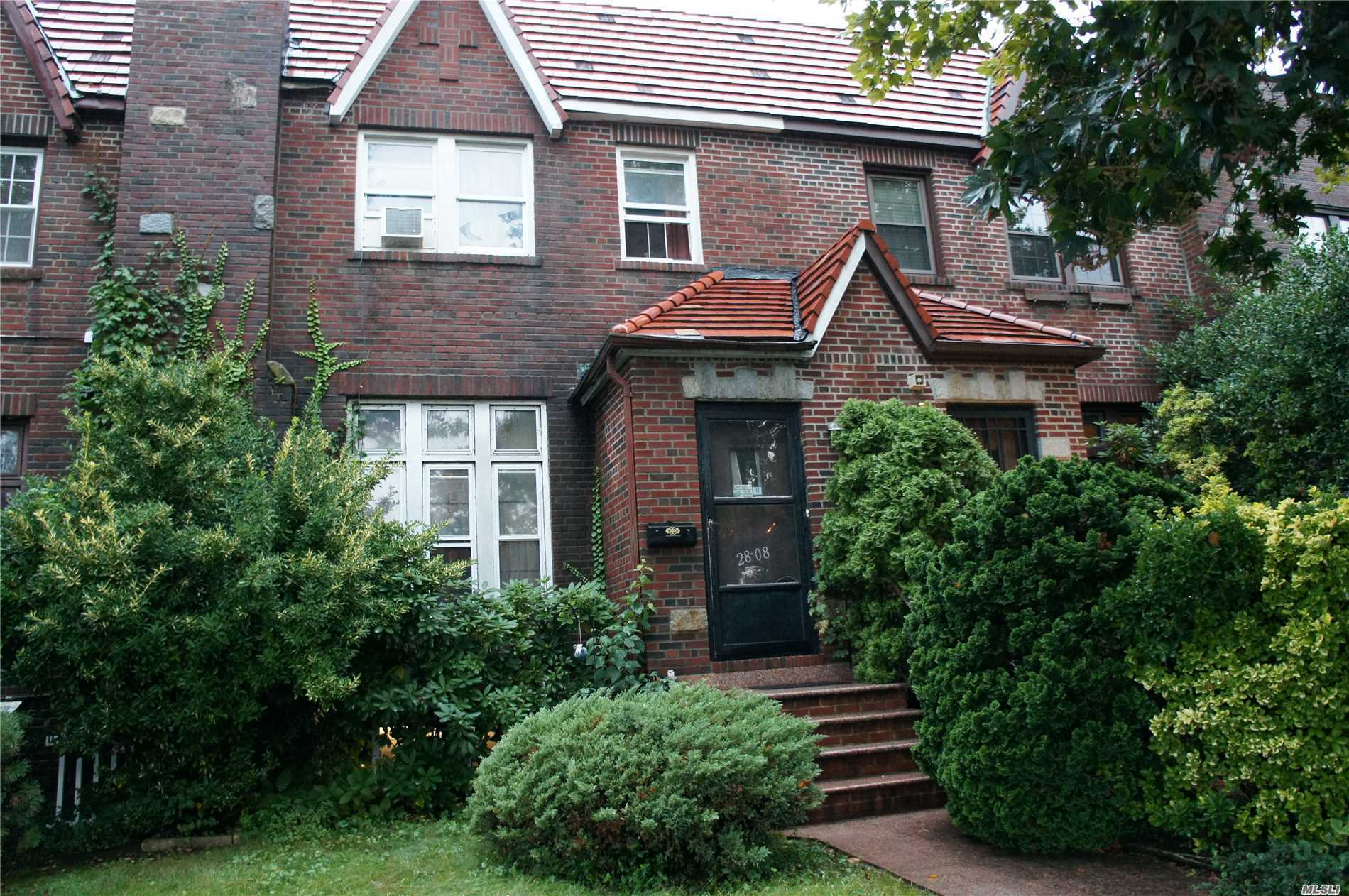 Single Family Tudor Located In The Heart Of Flushing, Close To Transportation. House Has Tons Of Potential! Needs Tlc And Is Being Sold As-Is *Sellers Are In The Process Of Clearing Clutter Out Of The Home, Pictures Will Be Updated Along The Way* Sellers Want To Hear All Offers!