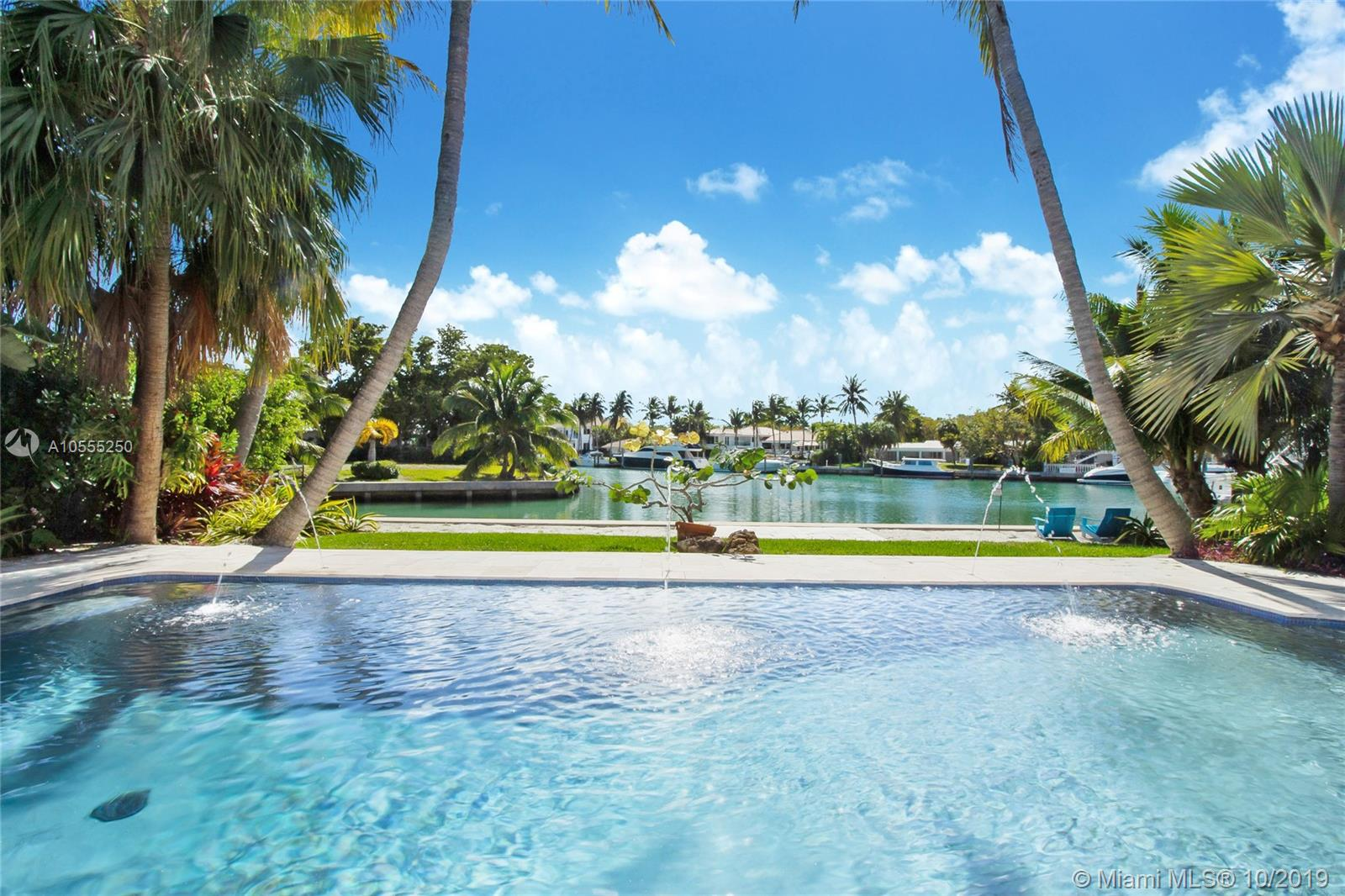 Waterfront House Being Sold For Land Value. House Is Not Elevated To Code. Lot Is 80 X 160, With 80 Feet On The Water. Seawall Is New. Pool Has Been Recently Remodeled. Roof Is 3 Years Old. Beautiful Water View Of The End Of The Canal, Where The Canal Widens And Opens Up. Beautiful Mature Coconut Palms Frame The View.Easy And Quick Access To Biscayne Bay And The Ocean. Please Call Owner-Agent, Peter Warner, For An Appointment.