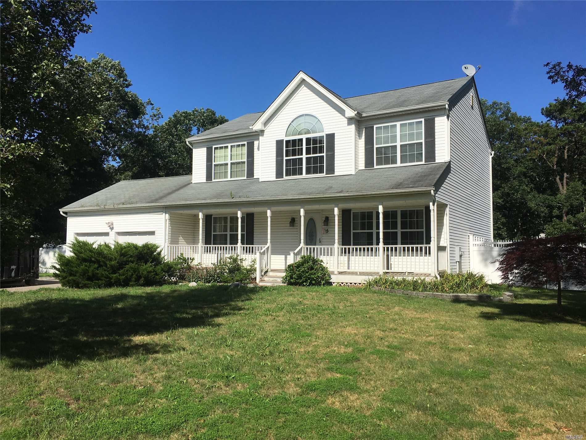 Perfect Location, On Cul D Sac, 20 Plus Homes On Block , Flat Property Backed Up To Unbuildable Land , Fenced Yard, Vaulted Ceilings In Mst Bed And Spare Bd Rm, House Has All On Your Check List 1/2 Acre Plus, 4 Bd, 2 1/2 Bath, 2 Car Garage, Full Basement, , Central A/C , Nice Subdivision, Fresh Paint New Carpets