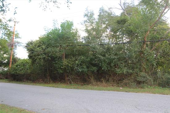 Nice Property - Near Beaches, Boating And Fire Island National Seashore And Campgrounds.Two Blocks From A Boatyard. Great Area For Children. Build Your Dream Home Here.