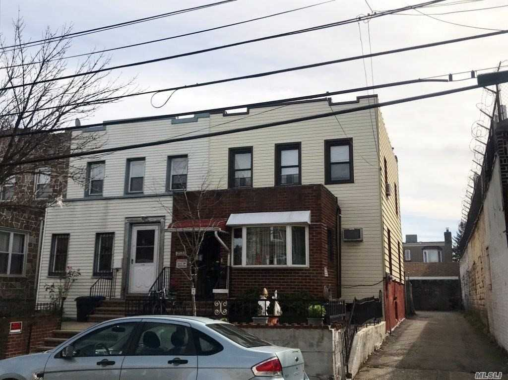 Charming & Spacious Sd Legal 2 Family Home Complete With A Full Unfinished Basement With High Ceilings & Endless Opportunities! This Home Is Located In The Heart & Hub Of Astoria. Ultra Close Proximity To All Transportation, Shopping & Entertainment! Blocks Away From Subways & An Express Bus That Goes Right Over The 59th St. Bridge Into Manhattan. This Is A Great Home For An Extended Family Or An Investor's Dream! A Single Car Detached Garage Is Just The Icing On The Cake!